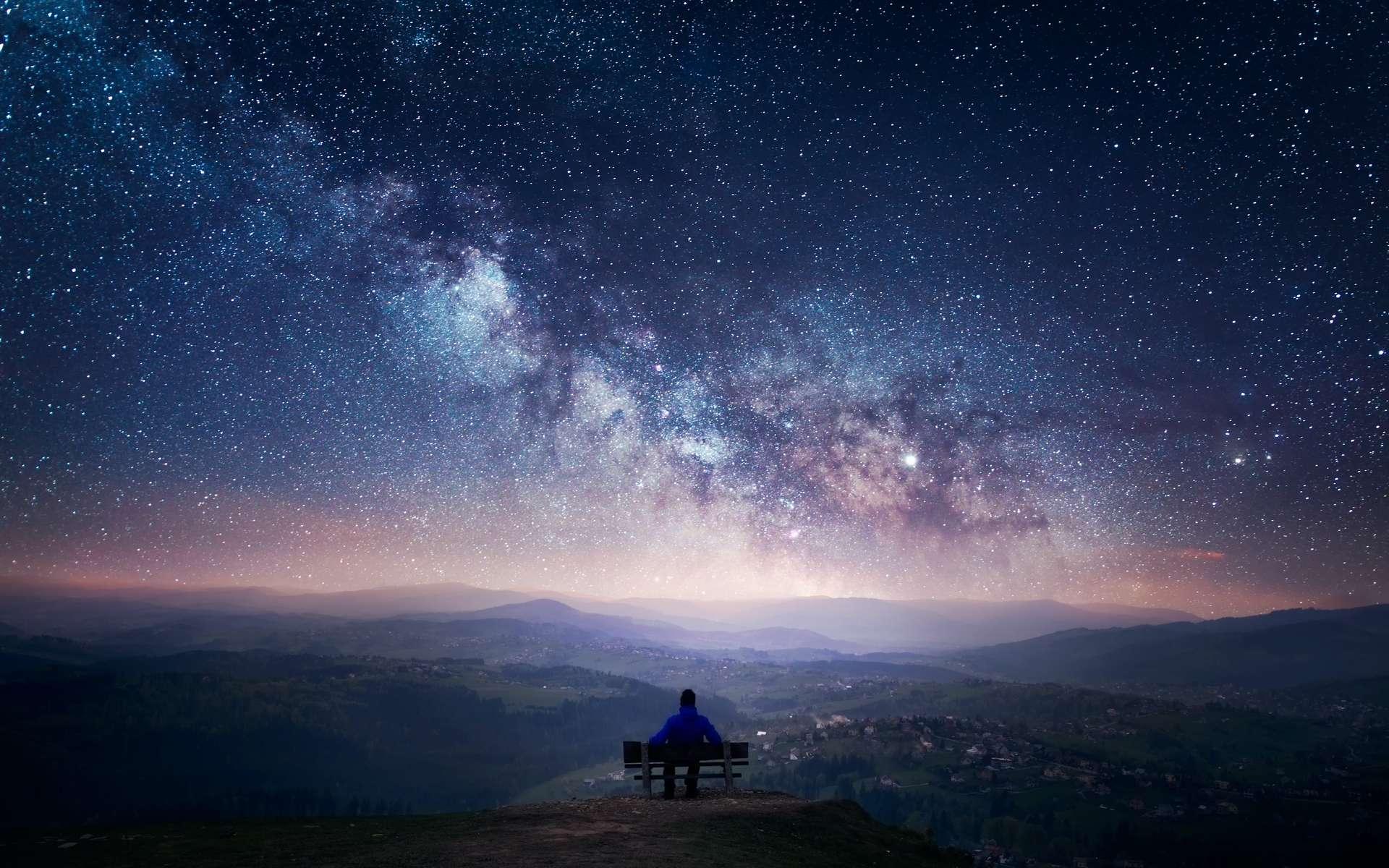 Des astronomes australiens ont écouté 10 millions d'étoiles à l'aide du Murchison Widefield Array (MWA). Ils n'ont pas capté la moindre technosignature ! © PiotrPawe, Adobe Stock