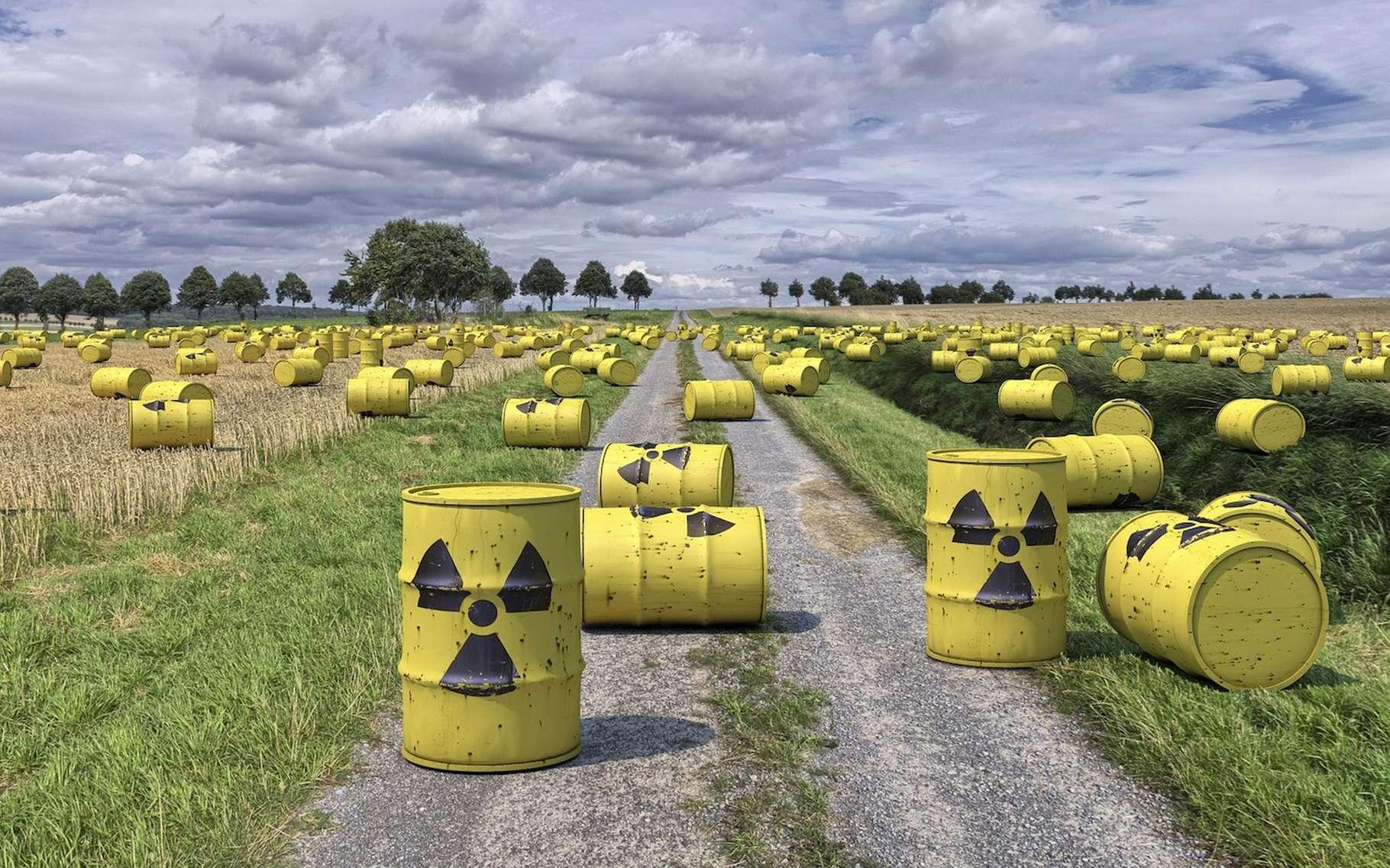 Les déchets nucléaires sont produits au cœur des centrales nucléaires et émettent un rayonnement radioactif. © rabedirkwennigsen, Pixabay, DP