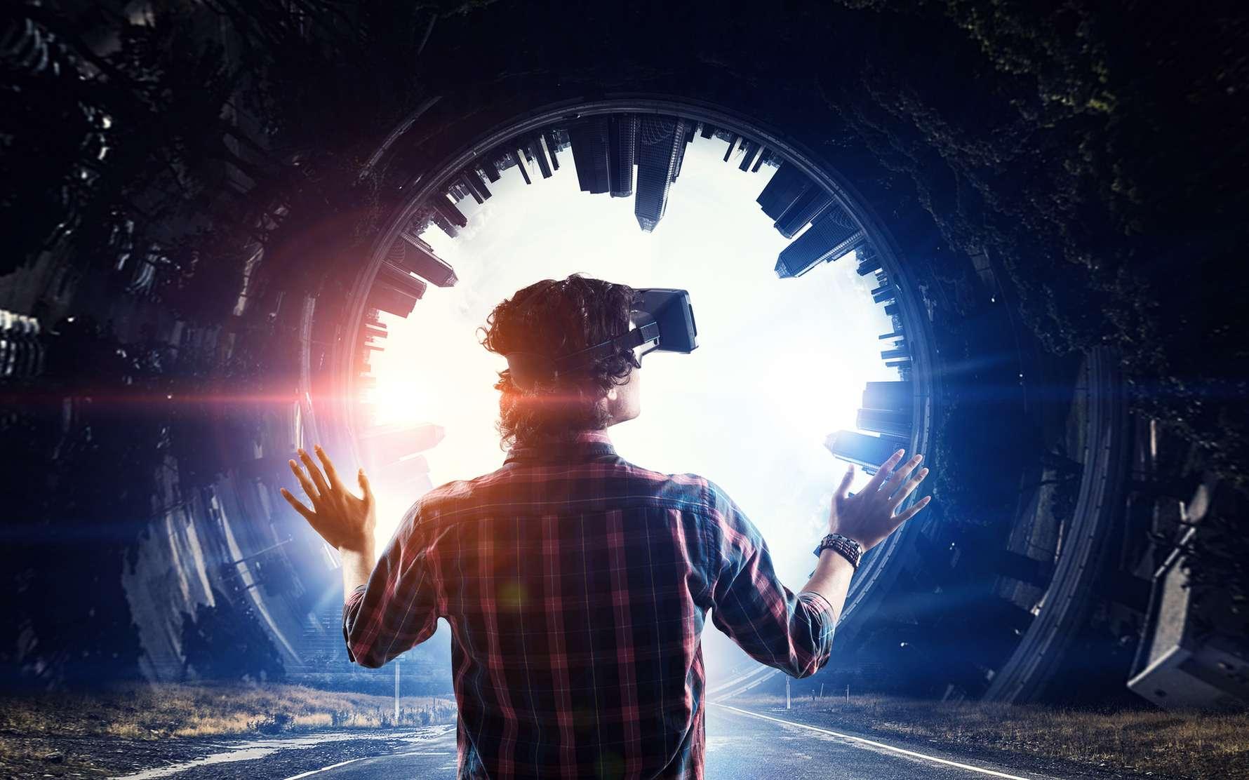 De nouveaux écrans OLED avec jusqu'à 10.000 ppp pourraient rendre la réalité virtuelle beaucoup plus réaliste. © Sergey Nivens, fotolia