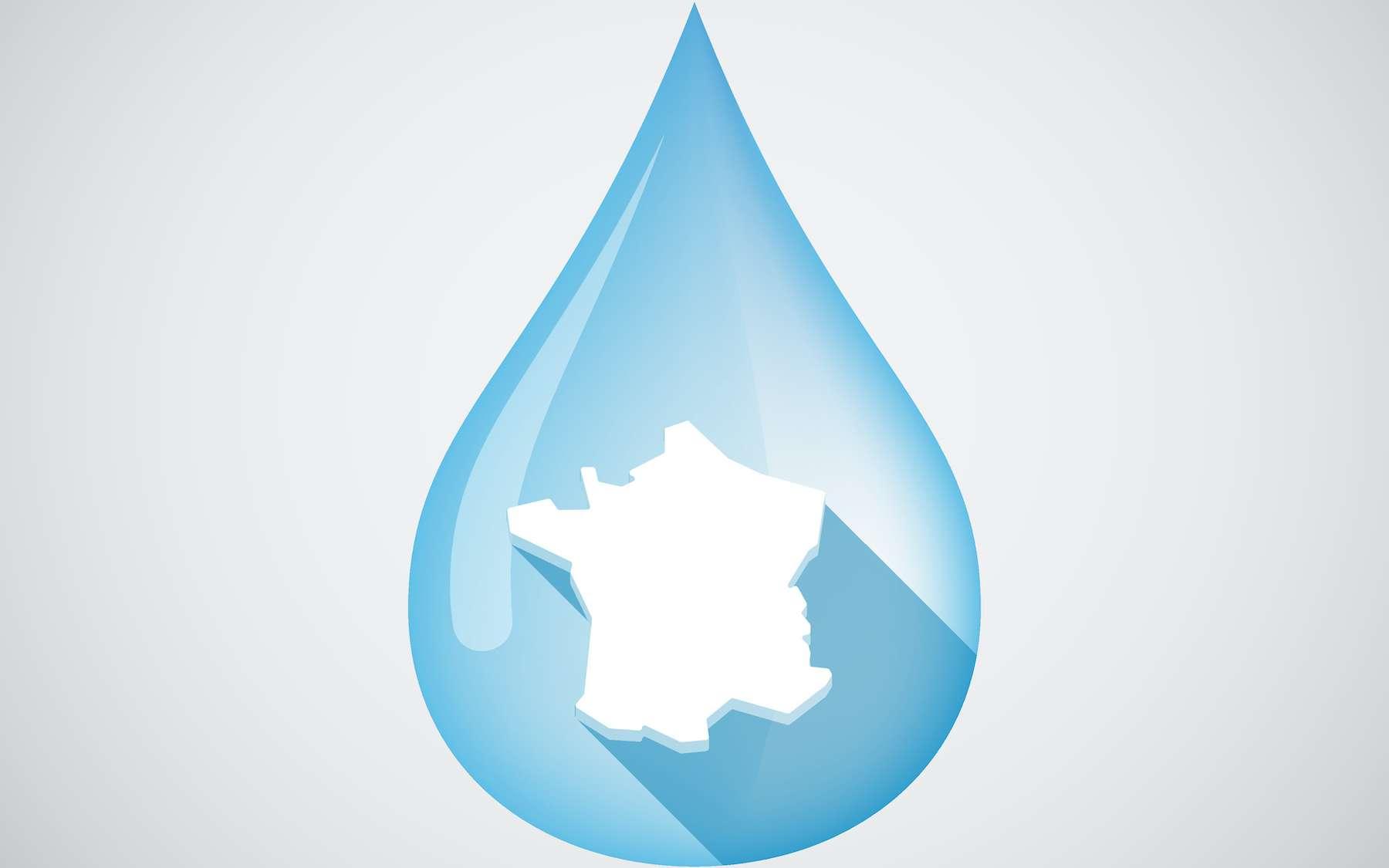 Consommation d'eau, pesticides dans les cours d'eau et précipitations : tout savoir sur l'eau en France. © jpgon, Adobe Stock