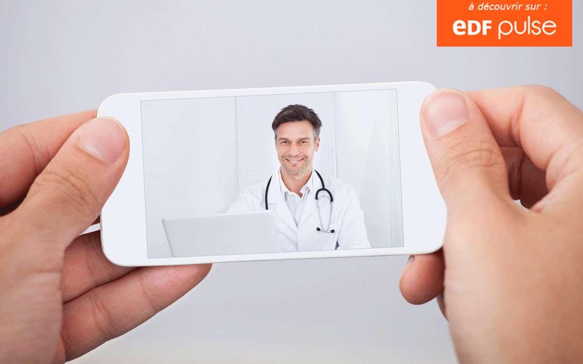 Les applications pour smartphone liées à la santé ou la forme peuvent être très utiles. Les médecins sont d'ailleurs de plus en plus nombreux à les conseiller à leurs patients. L'e-santé est en plein essor mais, pour bien en profiter, il faut apprendre à la connaître, pour séparer le bon grain de l'ivraie. © Shutterstock