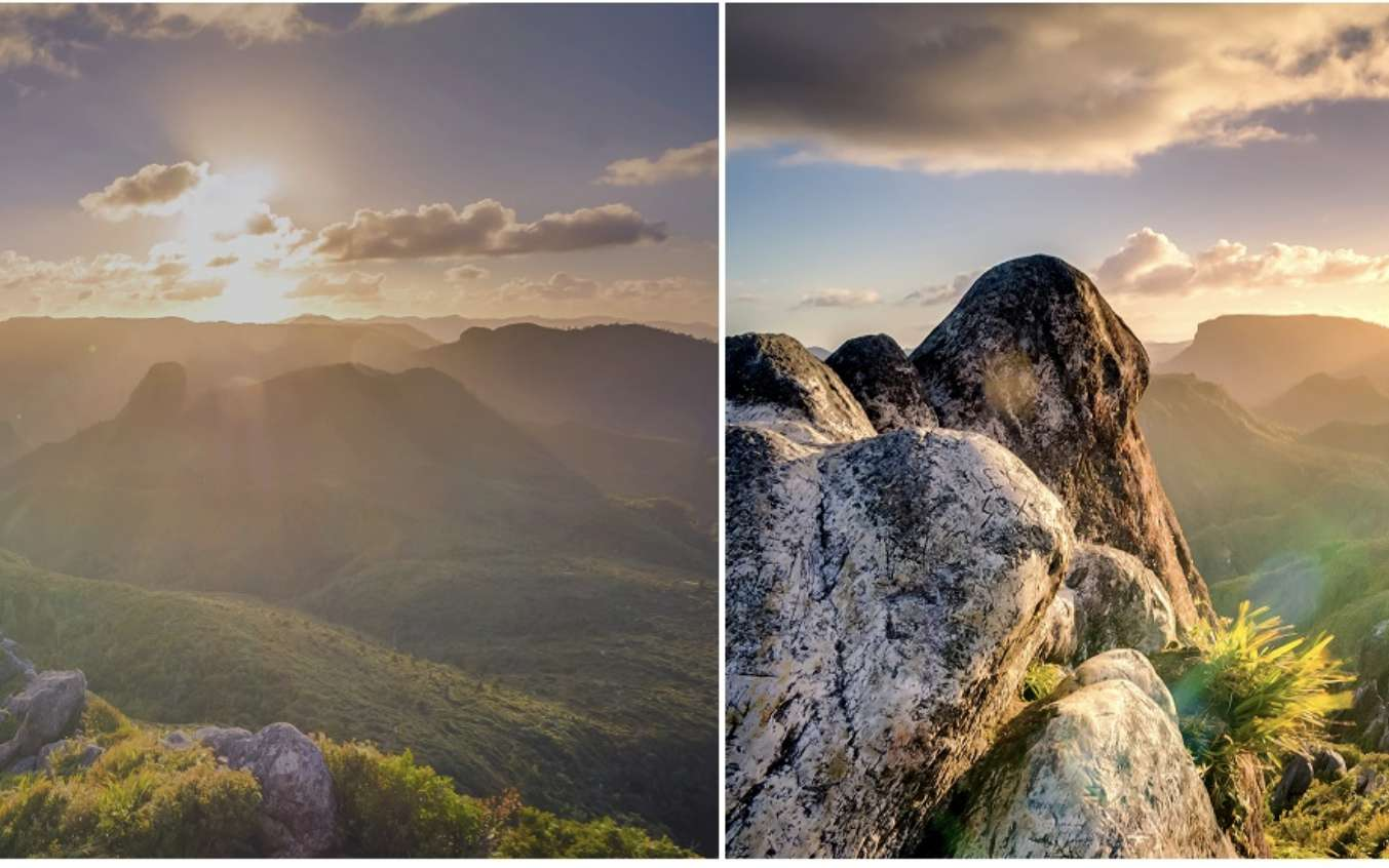 Gauche : photo normale (SDR). Droite : photo HDR. © Extremtech