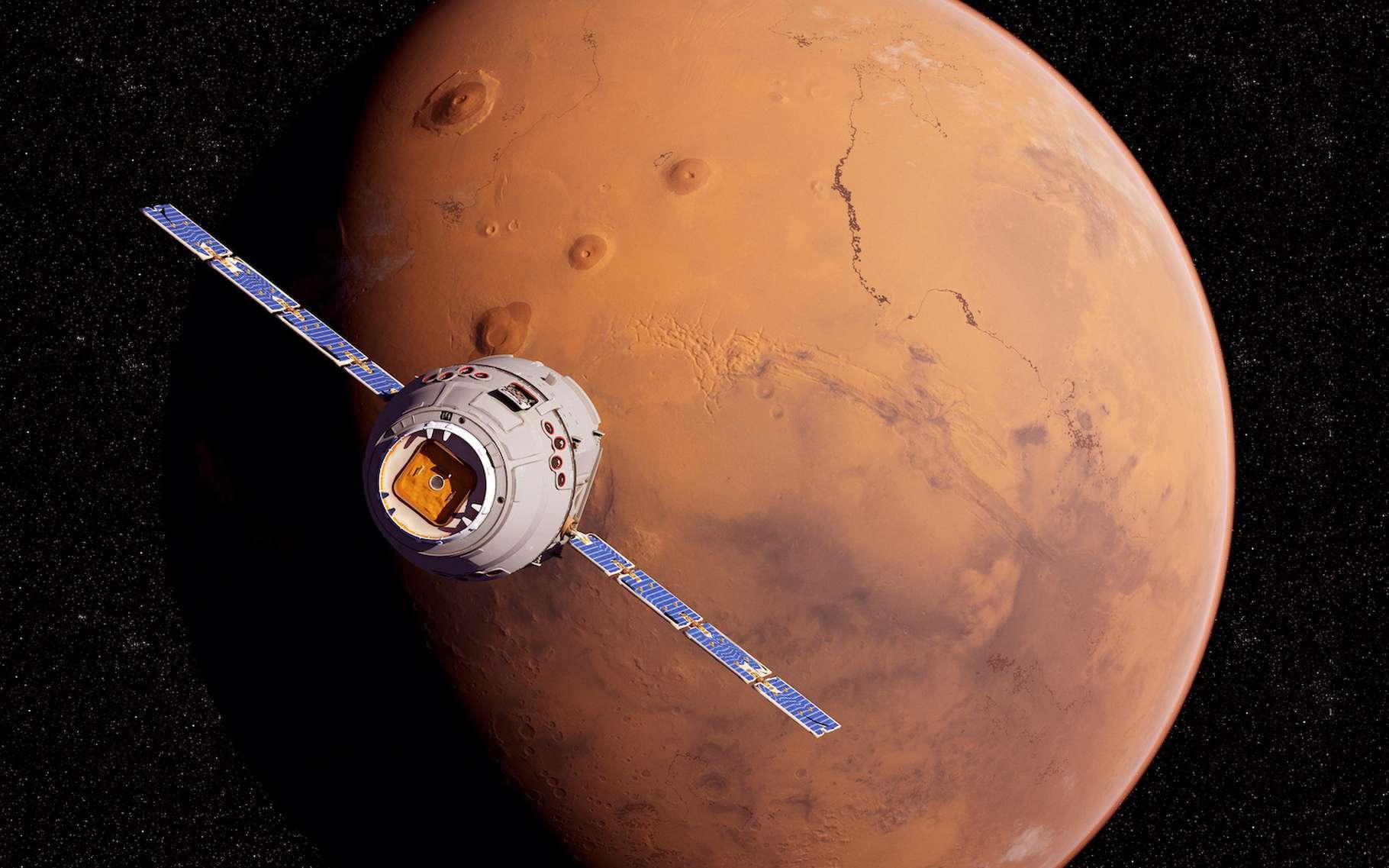 La planète Mars est l'un des objectifs privilégiés de l'exploration spatiale. © SciePro, Adobe Stock