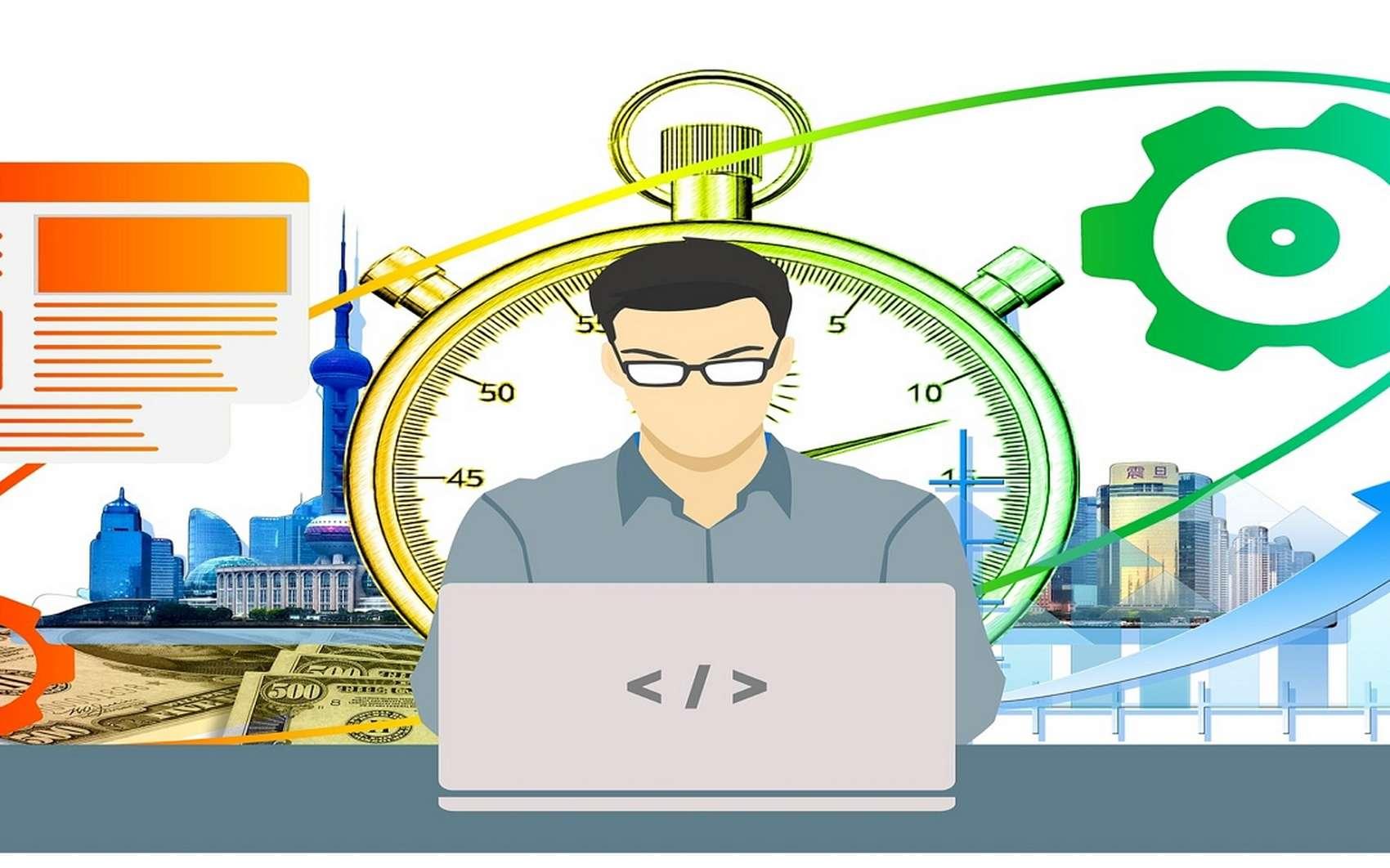 Futura vous présente une sélection des meilleures applications pour augmenter votre productivité. © Geralt de Pixabay
