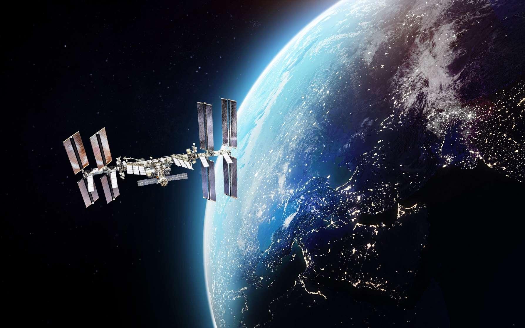 Depuis l'ISS, l'astronaute français Thomas Pesquet n'oubliera pas l'urgence climatique de la Terre. © Dimazel, Adobe Stock