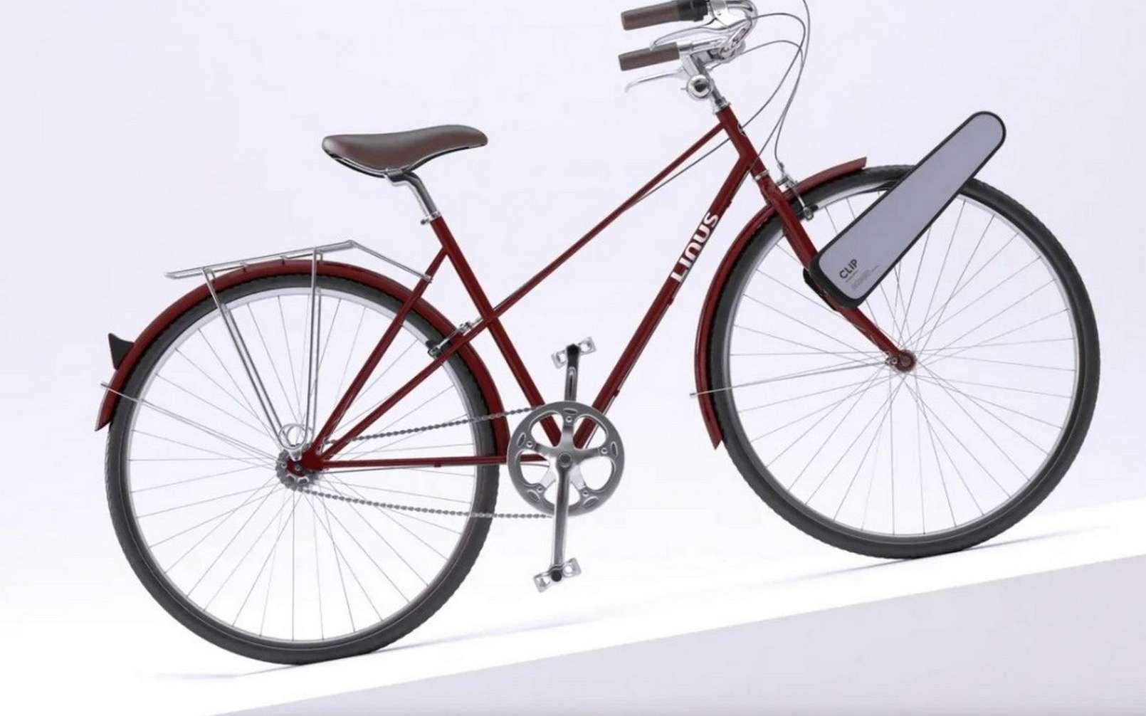 Le Clip est visuellement assez déroutant. Mais le concept est bien pensé. © Clip.Bike