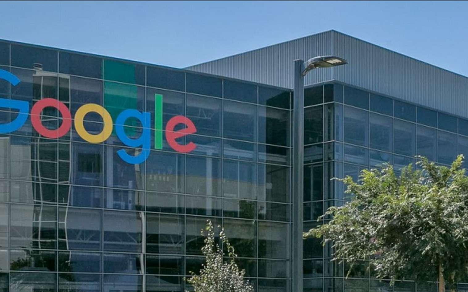 Entre 2013 et 2016, Google dit avoir réduit de 40 % la quantité d'eau potable consommée par les salariés de son siège californien. © Google