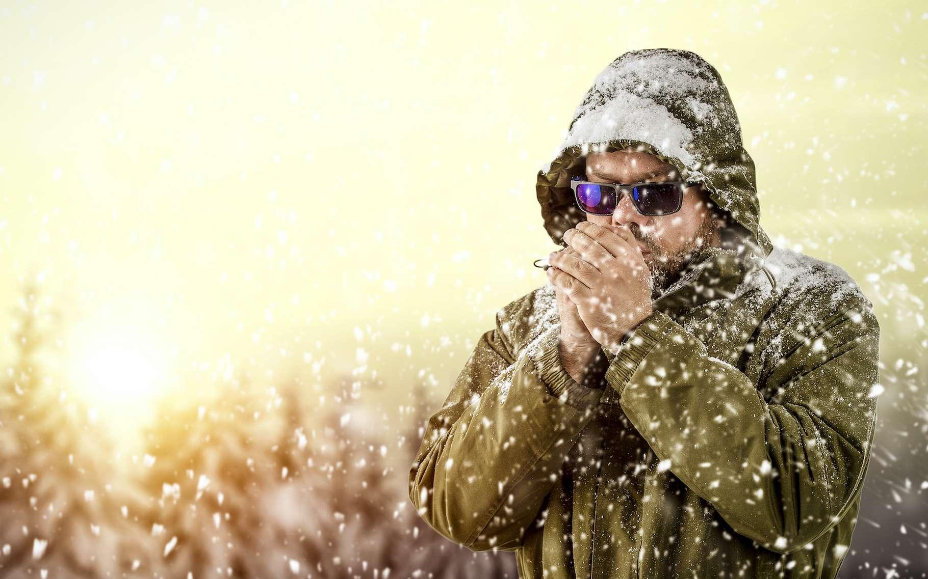 Un réchauffement stratosphérique soudain au-dessus du pôle Nord pourrait provoquer une vague de froid sur l'Europe. © magdal3na, Adobe Stock
