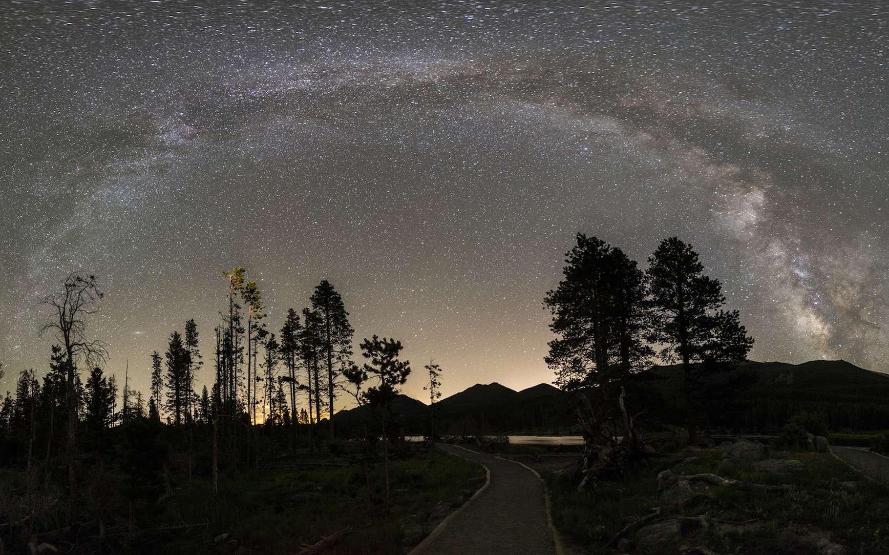 Le phénomène des «nuits lumineuses» semble être le résultat de la dynamique atmosphérique. © skeeze, Pixabay, CC0 Public Domain