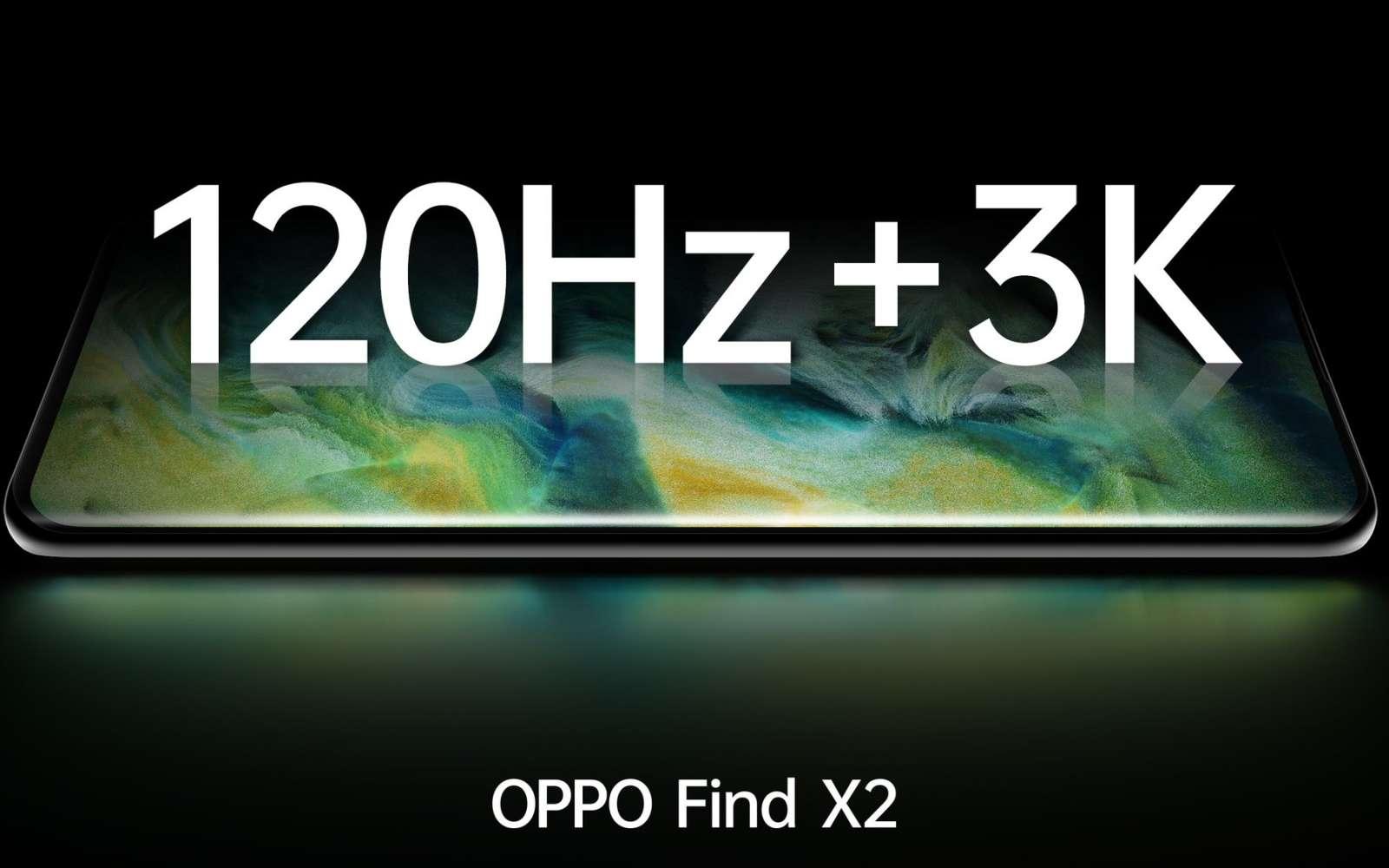 La fiche de l'Oppo Find X2 a été mis en ligne par erreur. © Oppo