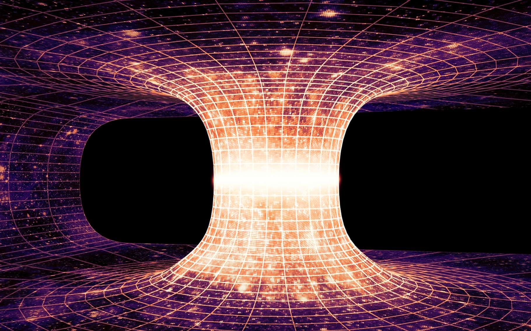 Trou de ver : un nouvel espoir pour les voyages interstellaires ? - Futura