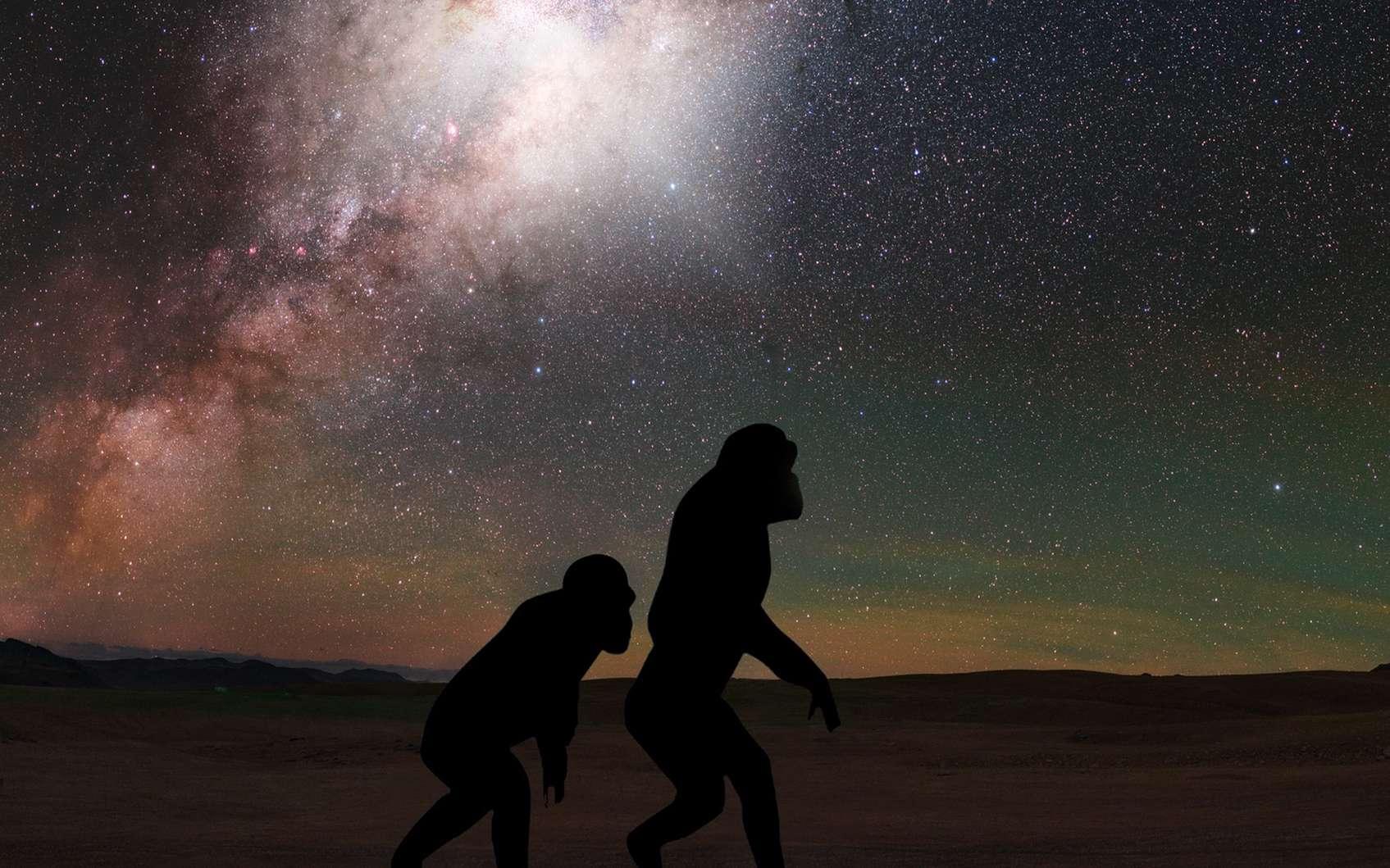 Nos ancêtres ont sans doute étaient témoins de l'éruption du trou noir au centre de la Voie lactée. © NASA, ESA, G. Cecil (UNC, Chapel Hill), J. DePasquale (STScI)