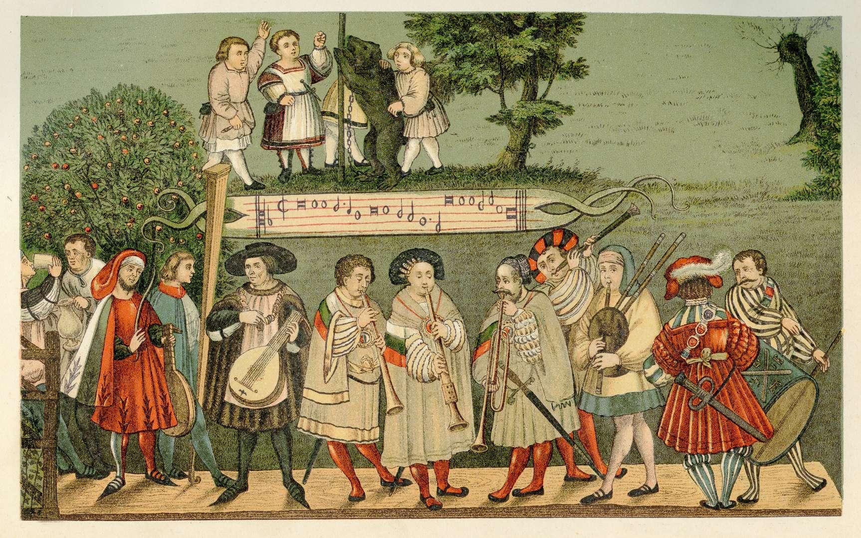 Les fabliaux du Moyen Âge étaient souvent l'œuvre des ménestrels. © acrogame, Fotolia