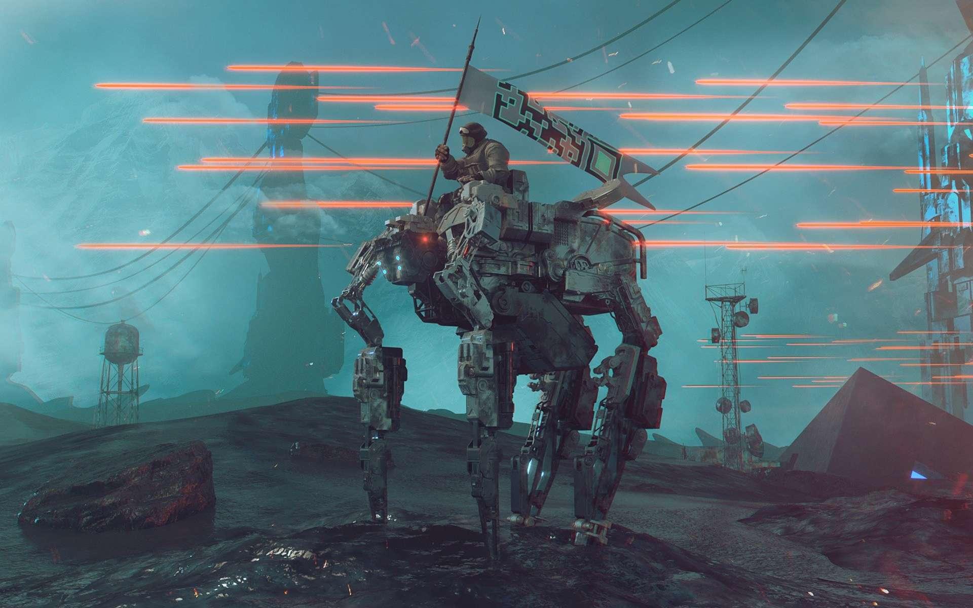 L'armée veut des implants cyborgs chez les soldats d'ici 2050. © Computerizer, Pixabay