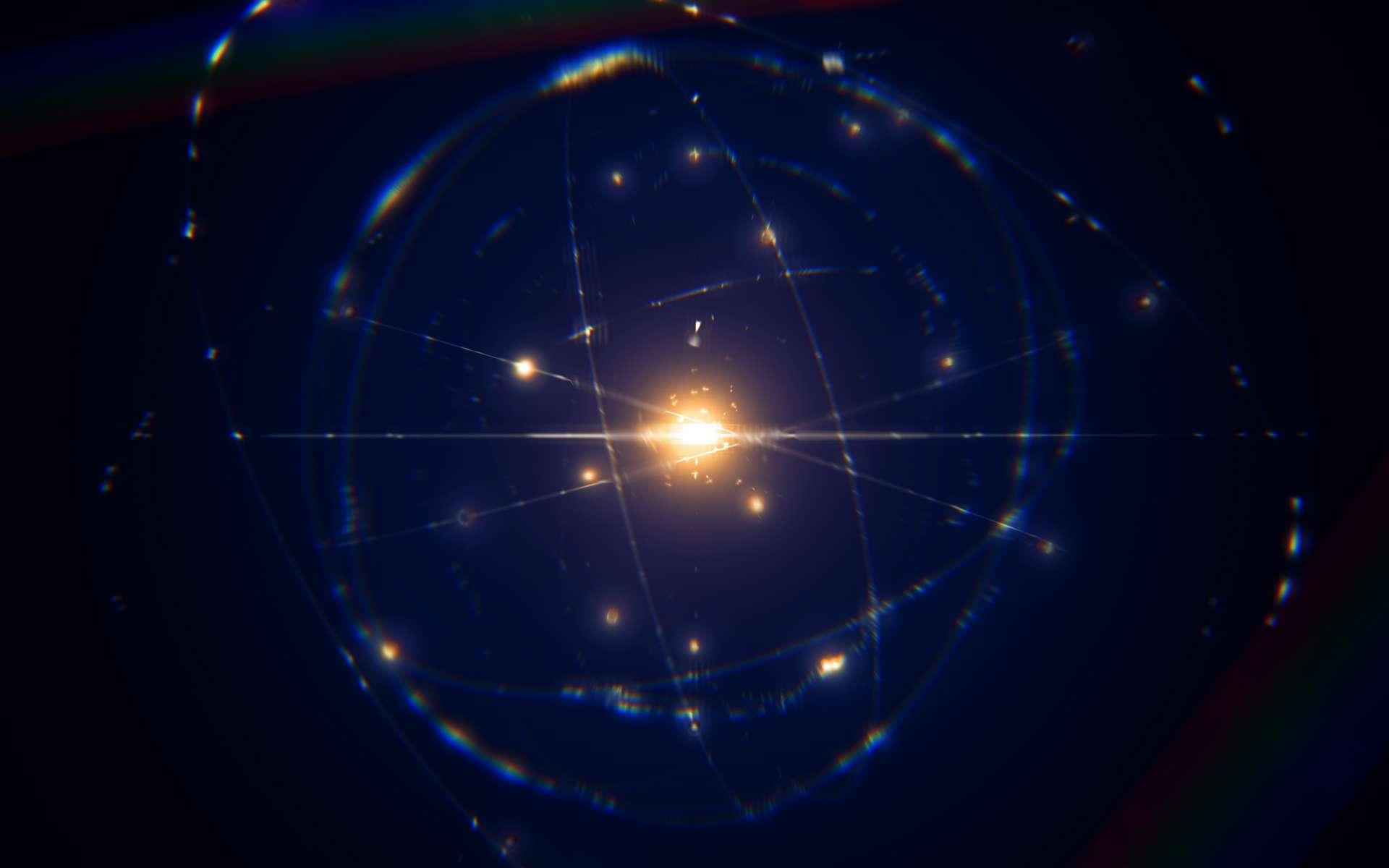 En observant le comportement de trois atomes de rubidium (Rb) isolés, des chercheurs ont été les témoins d'interactions jusqu'alors inconnues. © remotevfx, Adobe Stock