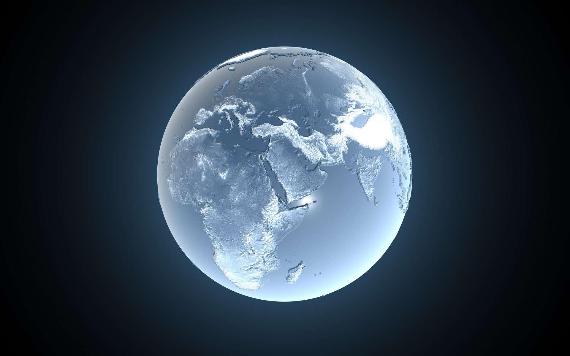 Durant le dernier maximum glaciaire, dans les régions autour des pôles les glaciers recouvraient une bonne partie de l'Europe. © I.M.R, Adobe Stock