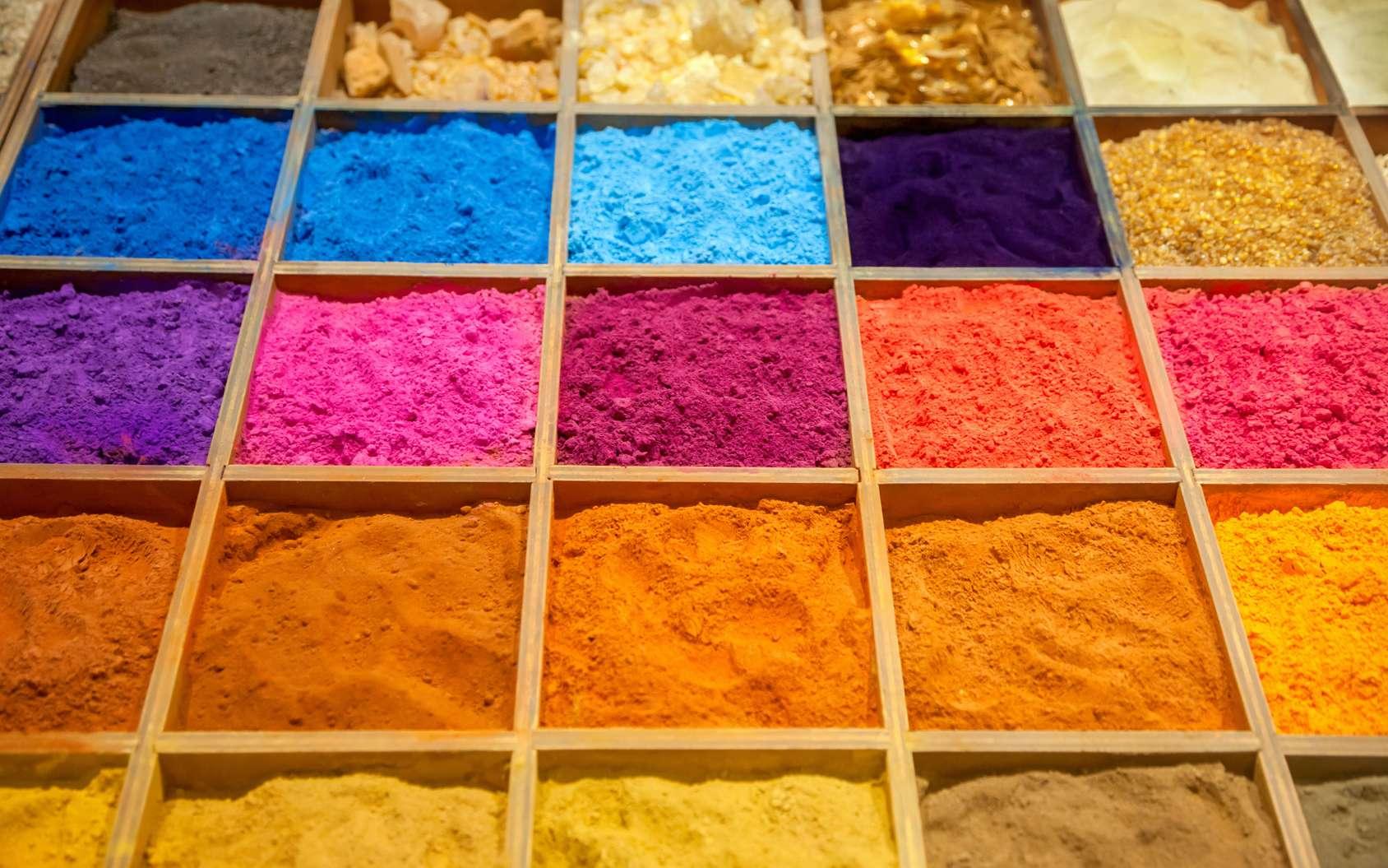 Les pigments naturels sont utilisés depuis la Préhistoire, mais d'où viennent-ils ? © adisa, Fotolia