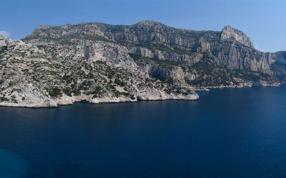 Le site de Morgiou, au sein de Parc national des Calanques. © Vincent, Wikimedia Commons, DP