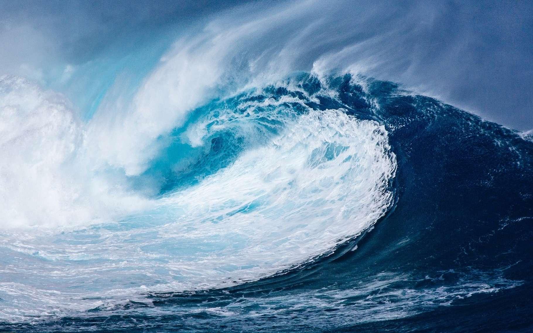 La vague Draupner est l'une des premières observations confirmées d'une vague scélérate. © NeuPaddy, Pixabay, CC0 Creative Commons
