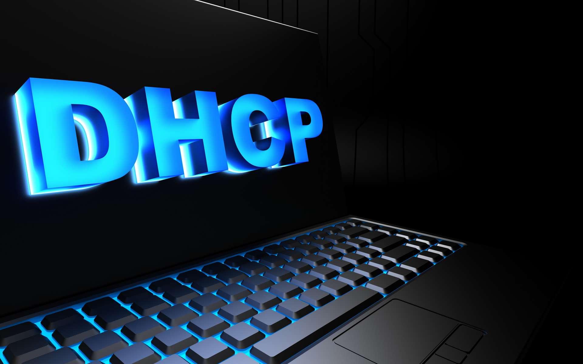 Le DHCP s'occupe de la configuration des paramètres IP des ordinateurs. © Adobe Stock, Сake78 (3D & photo)