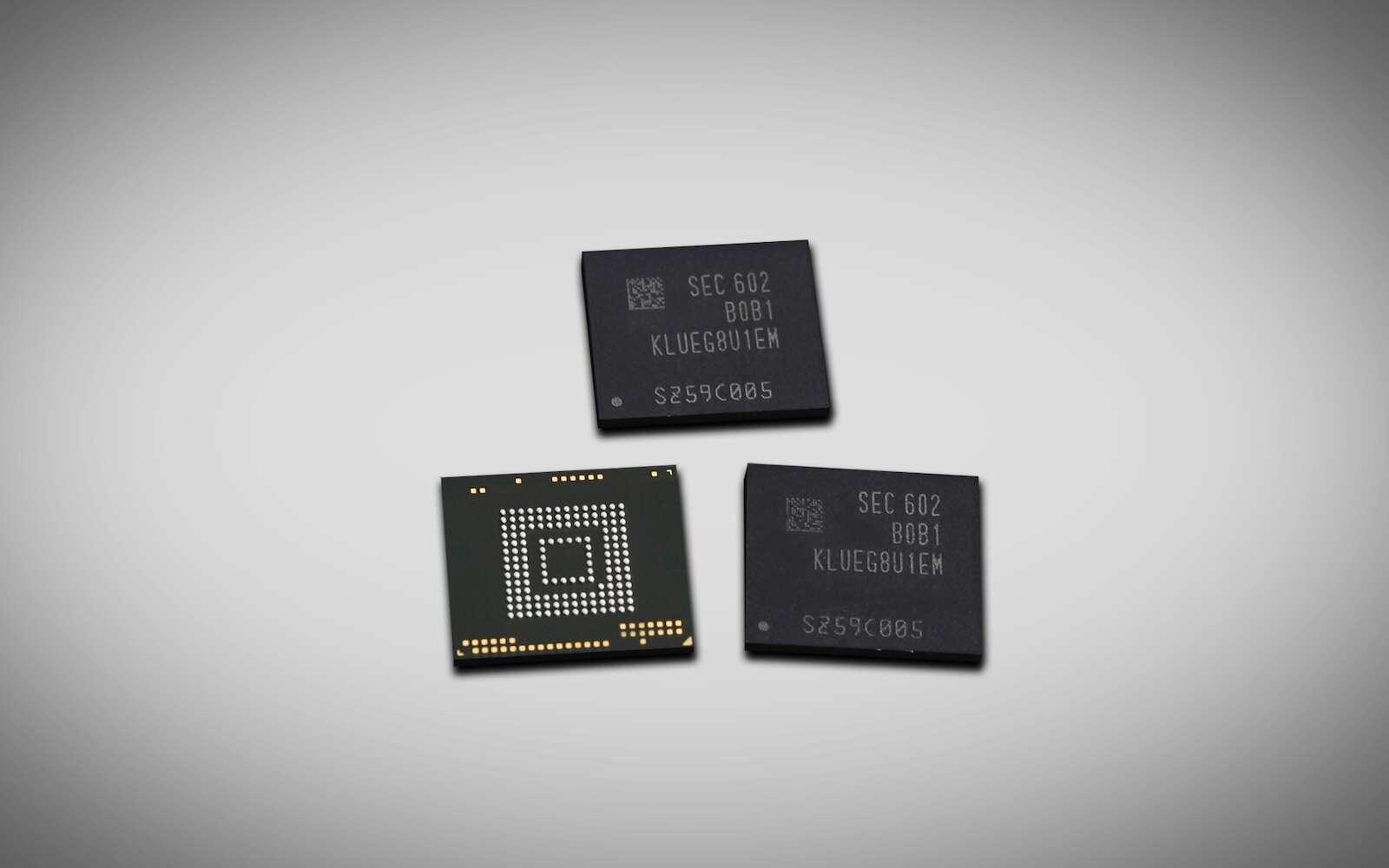 L'informatique de demain pourra stocker les données sur un seul type de mémoire. Fini la mémoire vive d'un côté, et le disque dur de l'autre, tout sera enregistré sur le même support. © Samsung