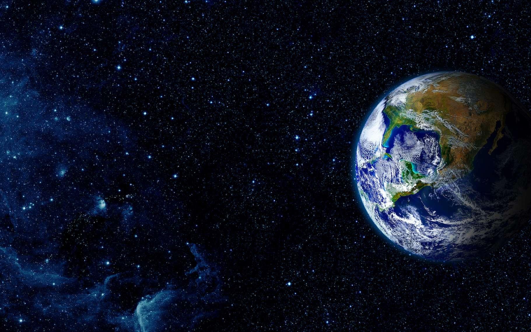 Des chercheurs de l'université de Copenhague (Danemark) estiment que notre Terre s'est formée plus vite qu'on le pensait jusqu'alors. © vovan, Adobe Stock