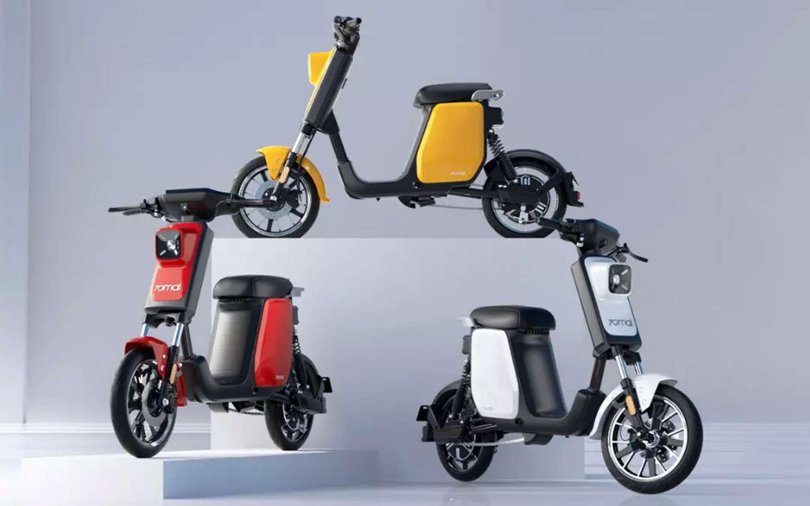 Les scooters électriques Xiaomi ne seront pour le moment distribués qu'en Chine. © Xiaomi 70mai