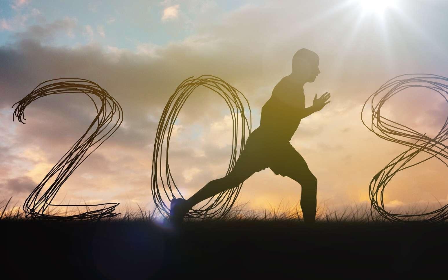 En 2018, on se met au sport : en voilà une bonne résolution ! © vectorfusionart, Fotolia