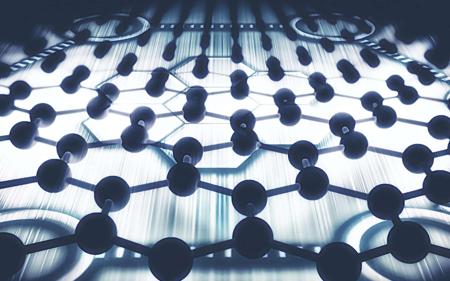 C'est en étudiant des empilements de matériaux 2D tels que le graphène que les physiciens de l'université Northeastern (États-Unis) ont mis au jour un nouvel état électronique de la matière. © GiroScience, Adobe Stock