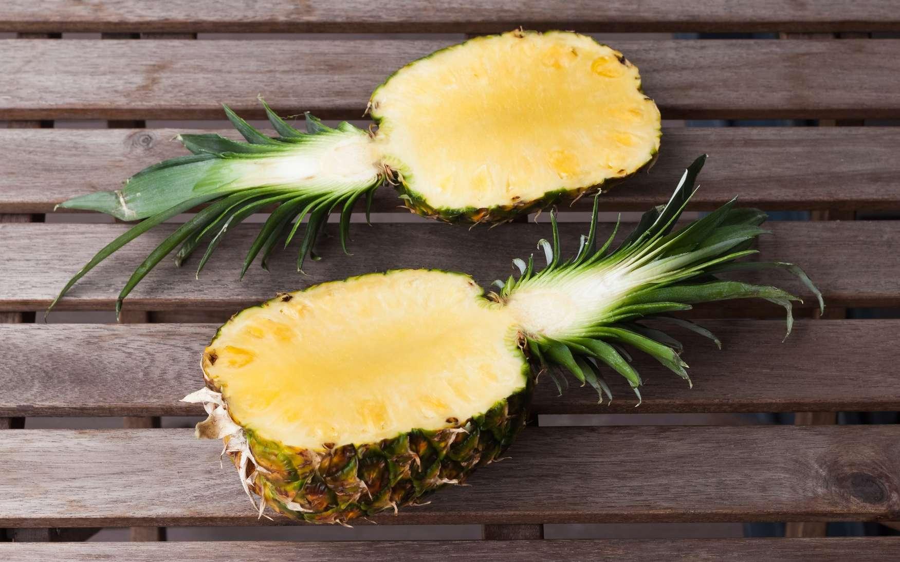 La bromélaïne est extraite de l'ananas. © Anastasiia, Fotolia