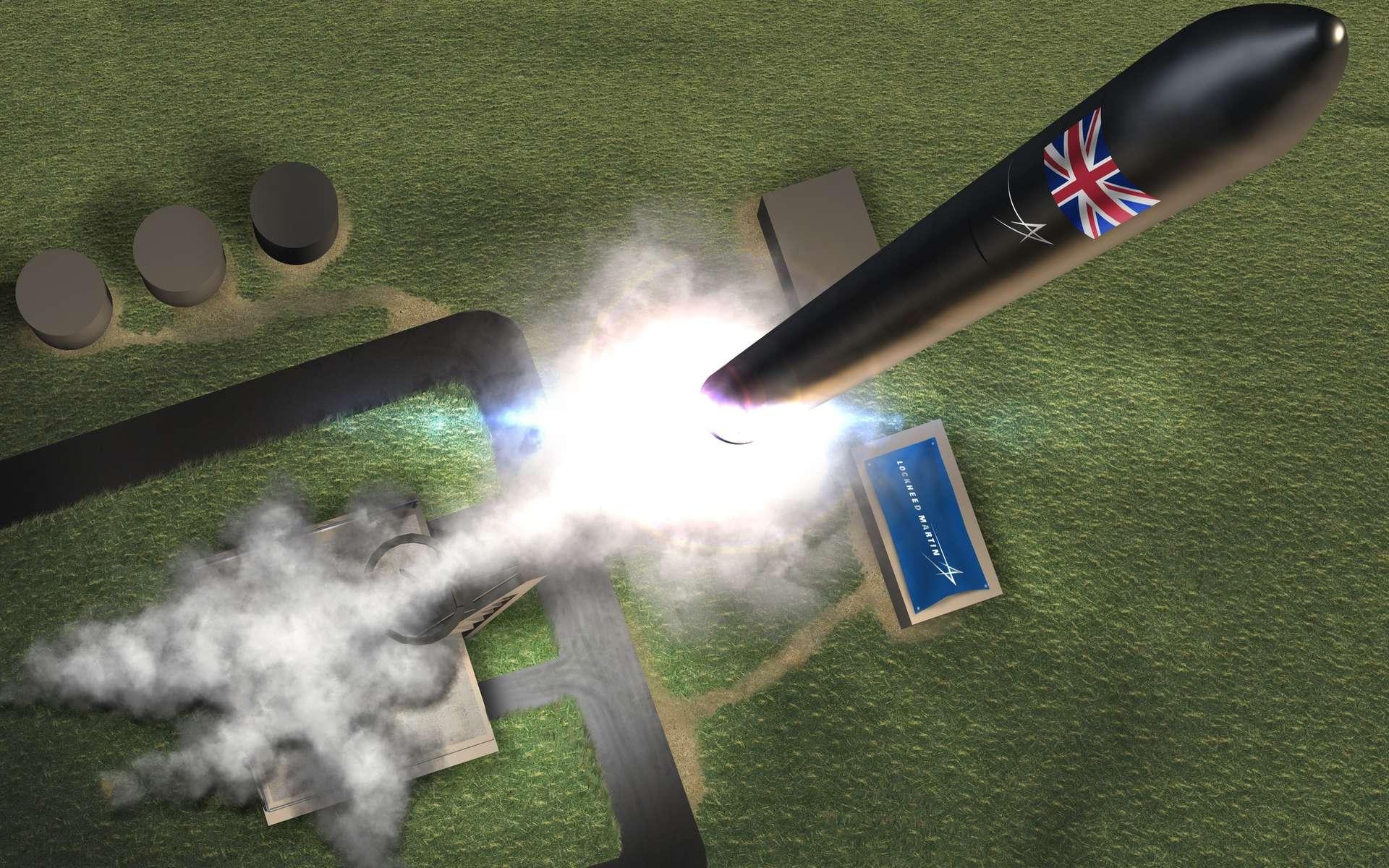 La base de Sutherland servira aux opérations de Lockheed Martin et Orbex. © Lockheed Martin
