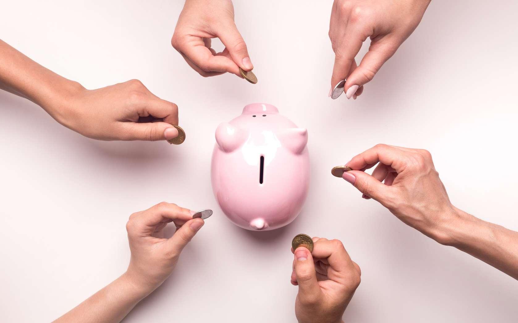La finance solidaire est un placement ouvert à tous. © Prostock-studio, Fotolia