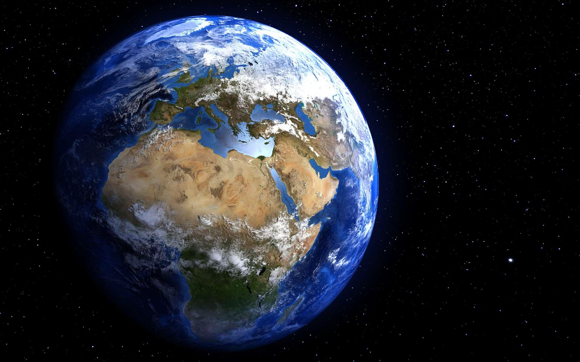 Pourquoi le champ magnétique terrestre s'inverse-t-il épisodiquement ? © marcel, Adobe Stock