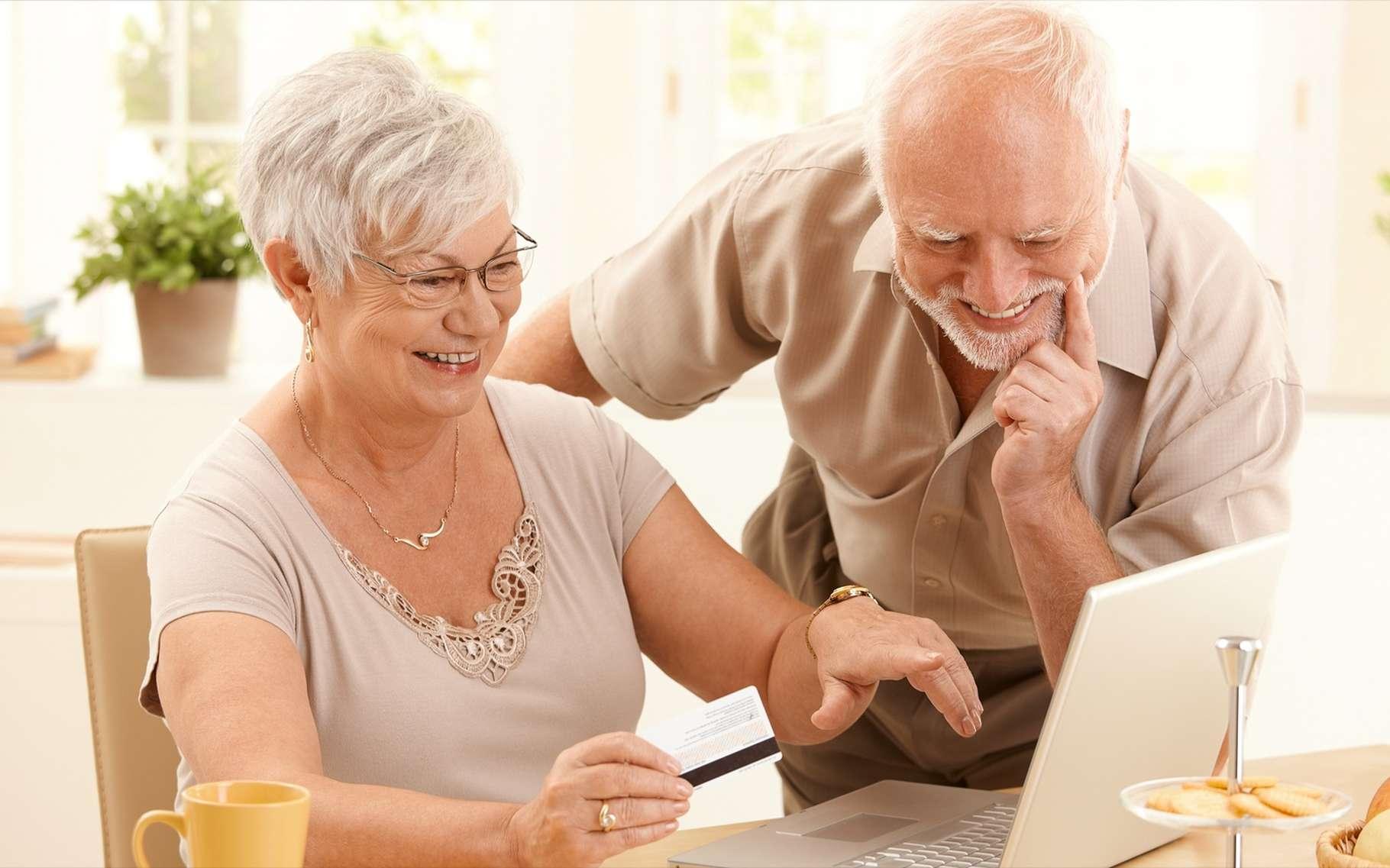 Le fait d'utiliser Facebook est associé à la longévité. © StockLite, Shutterstock