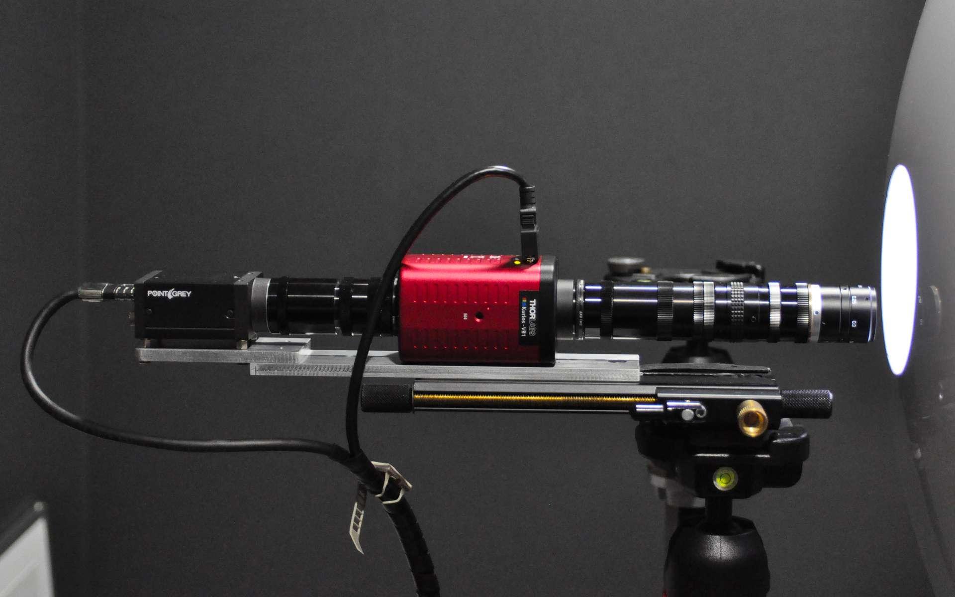 Système d'imagerie hyperspectral développé pour l'observation de la peau du visage. © L'Oréal