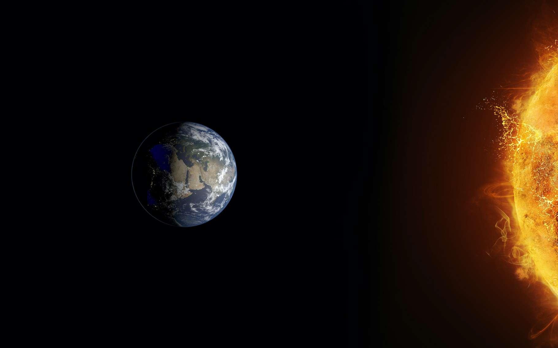 La géoingénierie solaire propose de gérer le rayonnement que la Terre reçoit du Soleil dans le but de limiter le réchauffement anthropique dû aux émissions de gaz à effet de serre. © trahko, Adobe Stock