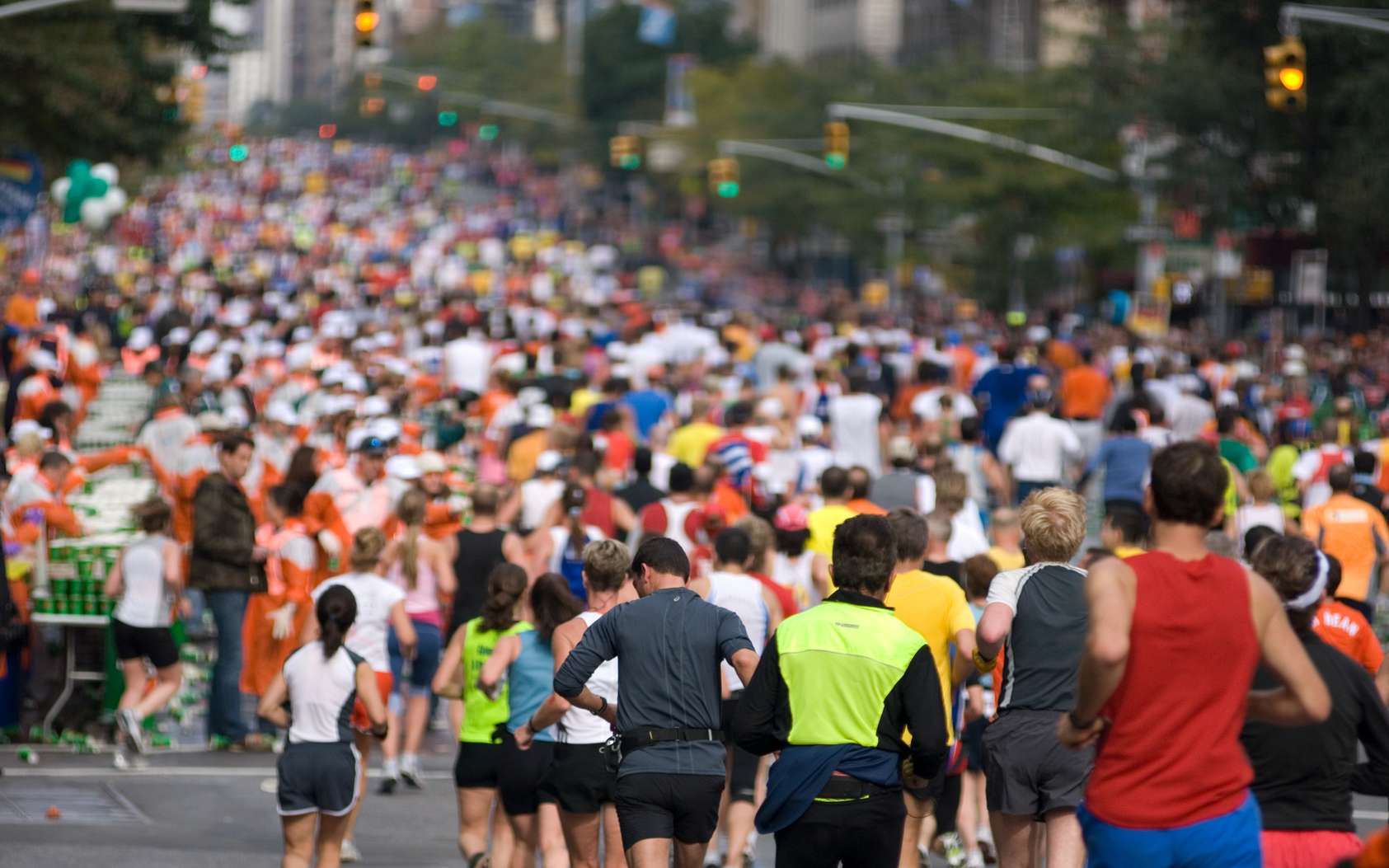 En moyenne, 50.000 participants au marathon de New York. © Touch, Fotolia