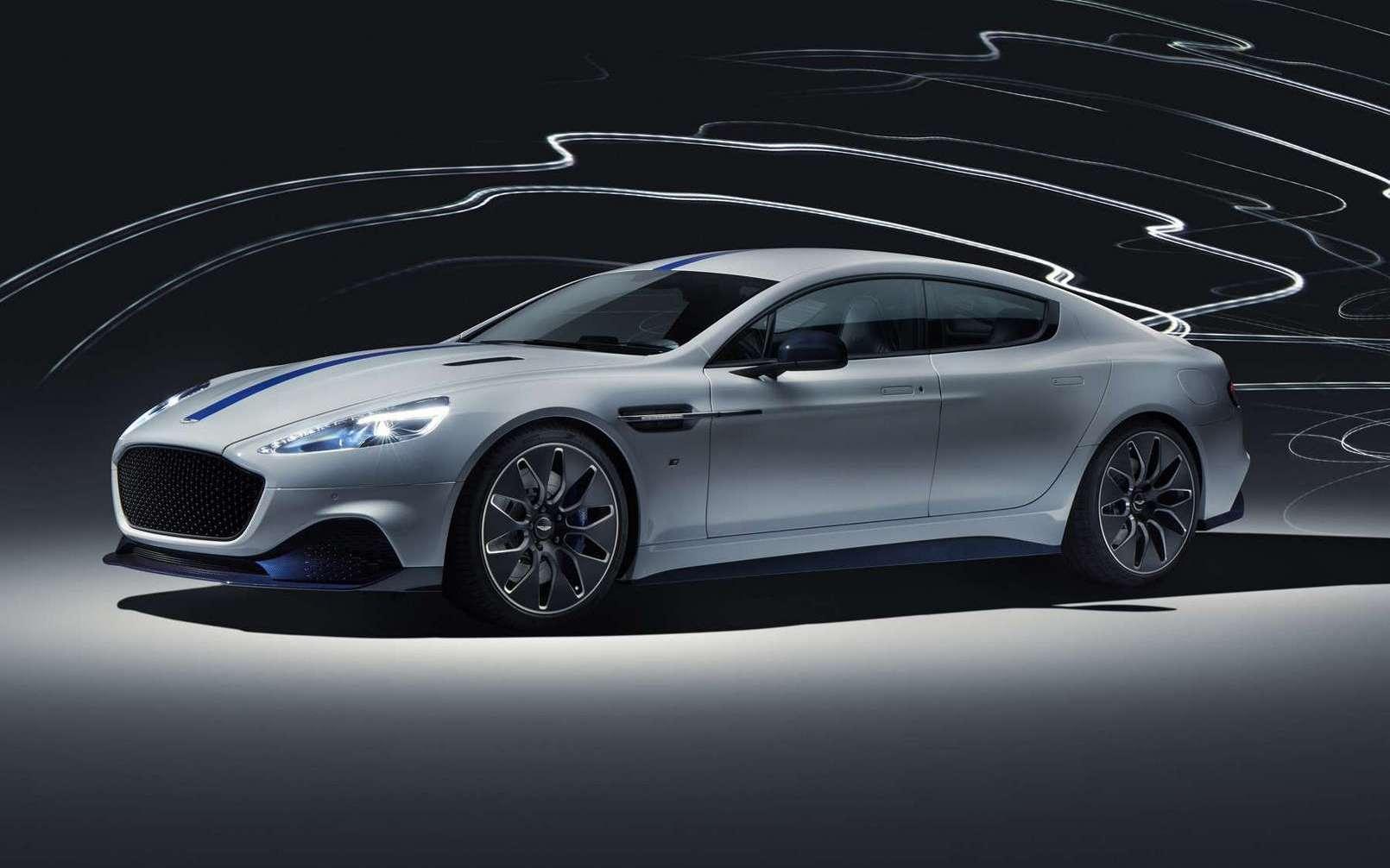 L'Aston Martin Rapide E. © Aston Martin