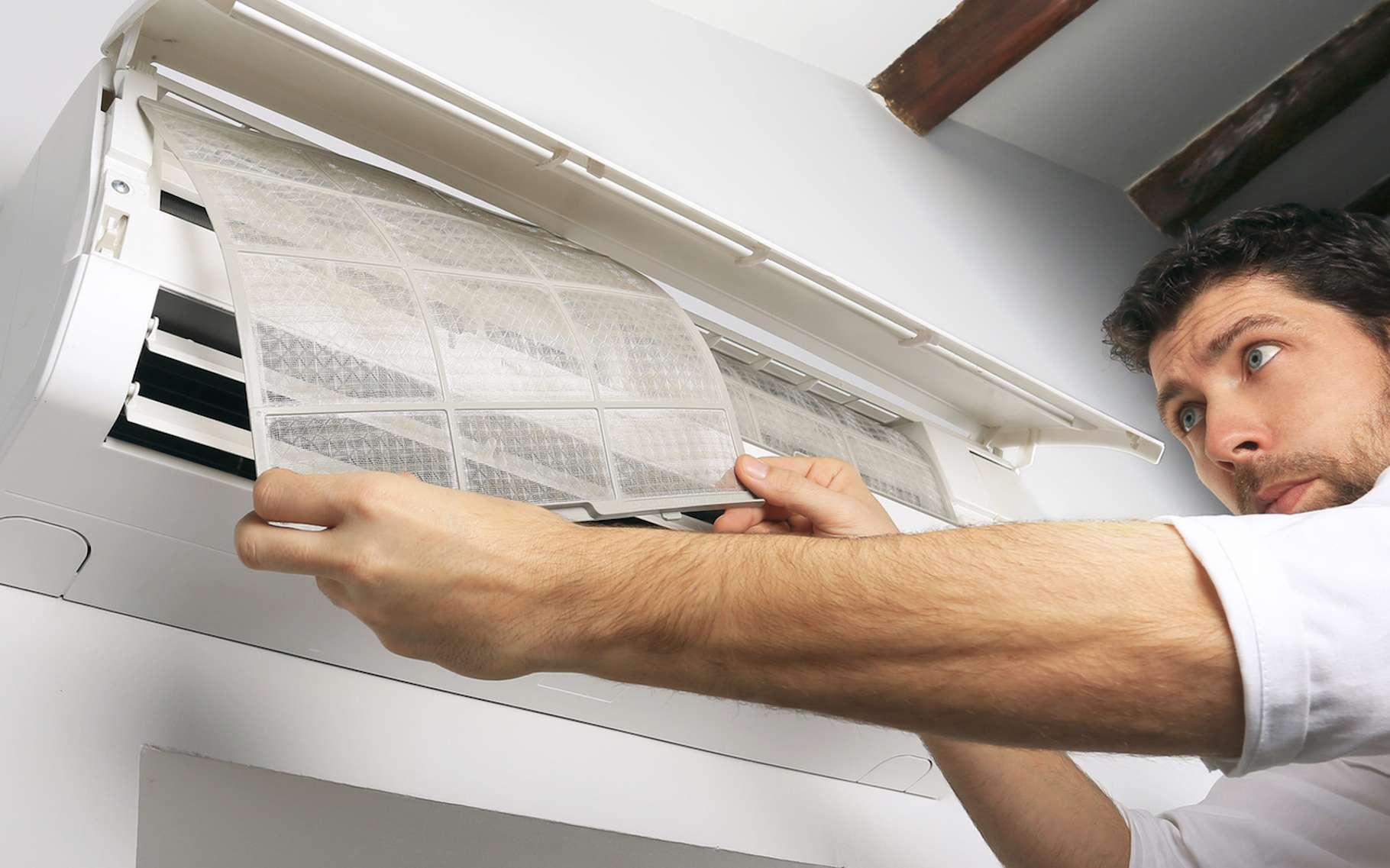 Les filtres du climatiseur doivent être entretenus. © Daylight Photo, Fotolia