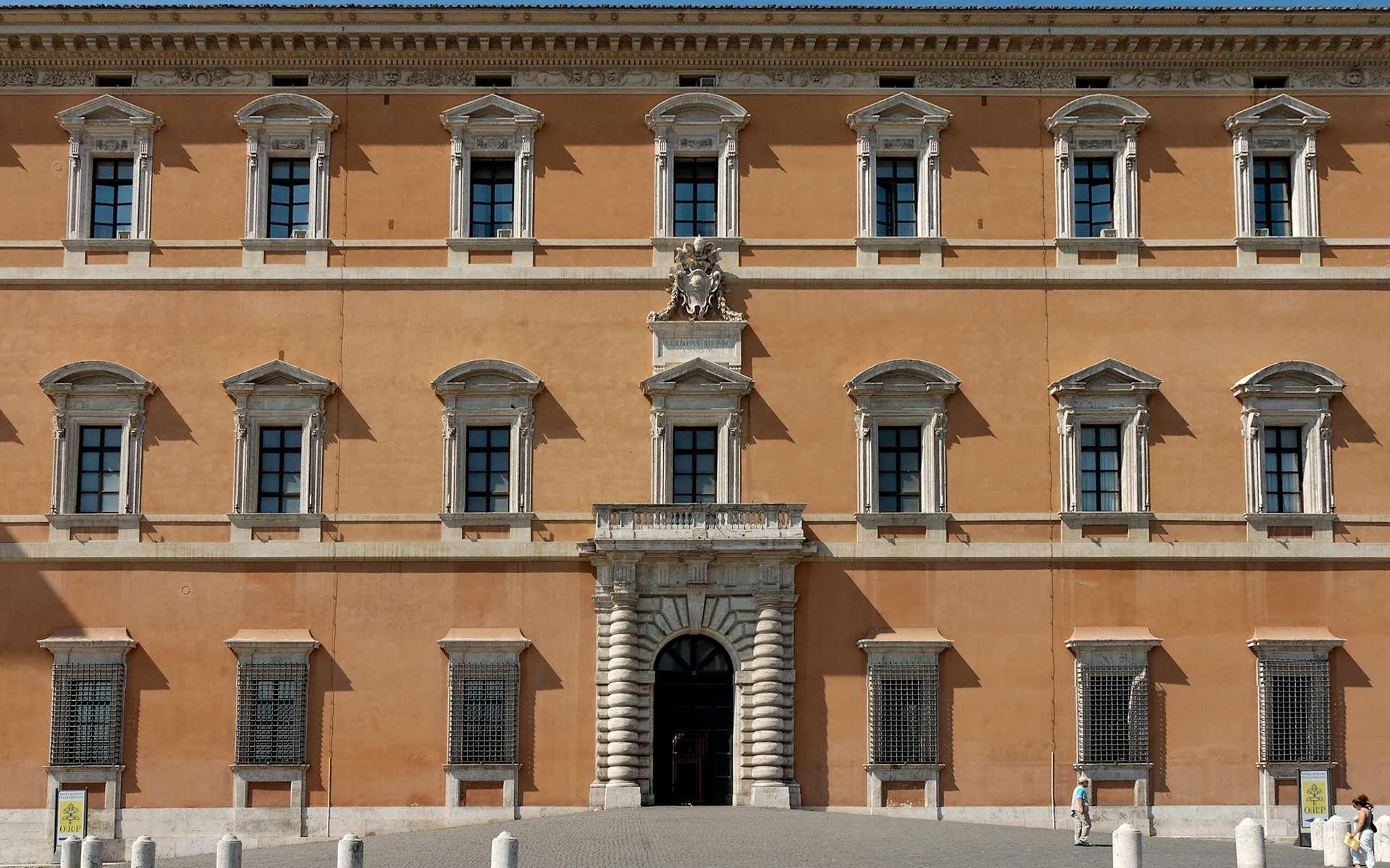 Le mur de façade désigne le mur extérieur d'un édifice. © Jastrow, CC BY-SA 2.5, Wikimedia Commons