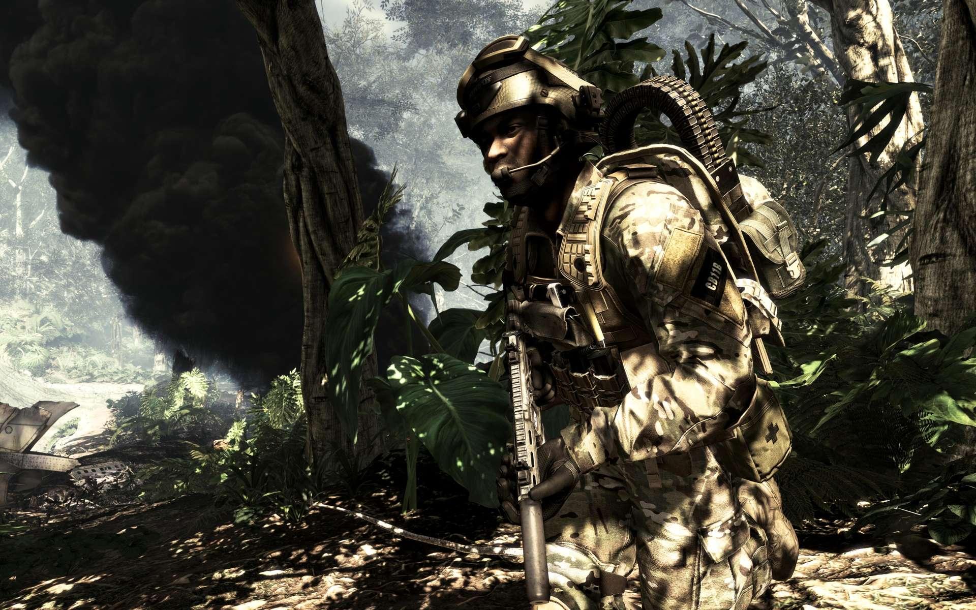 Capture d'écran du jeu Call of Duty : Ghosts. Il fera partie des 15 titres exclusifs qui seront disponibles sur la Xbox One dans l'année qui suivra sa sortie. © Microsoft