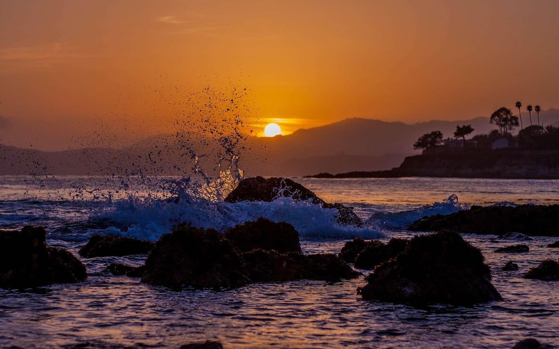 Entre l'océan, la mer, le lac, l'étang et la mare, le plus étendu est bien entendu l'océan. Et l'océan Pacifique est le plus vaste des océans du monde. © thomaswhitaker, Pixabay, CC0 Public Domain