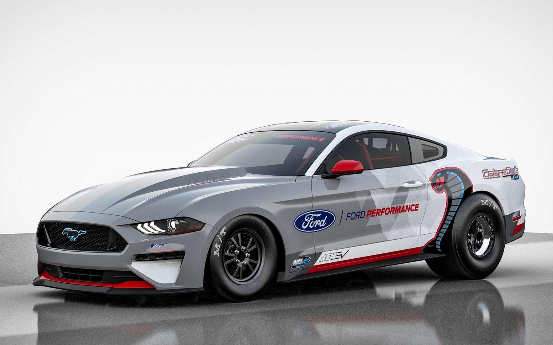La Mustang Cobra Jet 1400 aligne 1.491 Nm de couple. © Ford