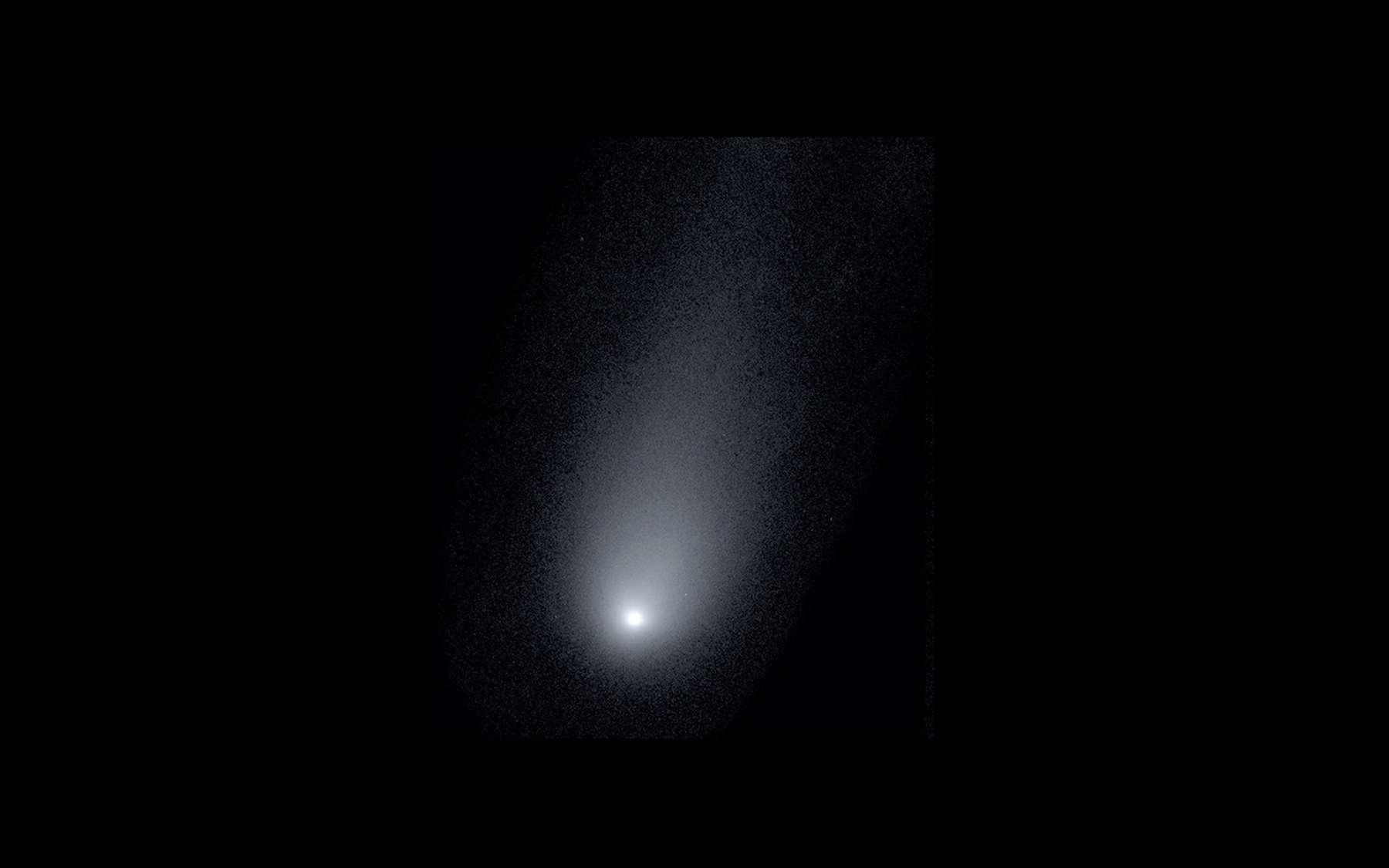 La comète interstellaire 2I/Borisov photographiée le 24 novembre 2019 à l'observatoire Keck à Hawaï. © Pieter van Dokkum, Cheng-Han Hsieh, Shany Danieli, Gregory Laughlin, Yale University