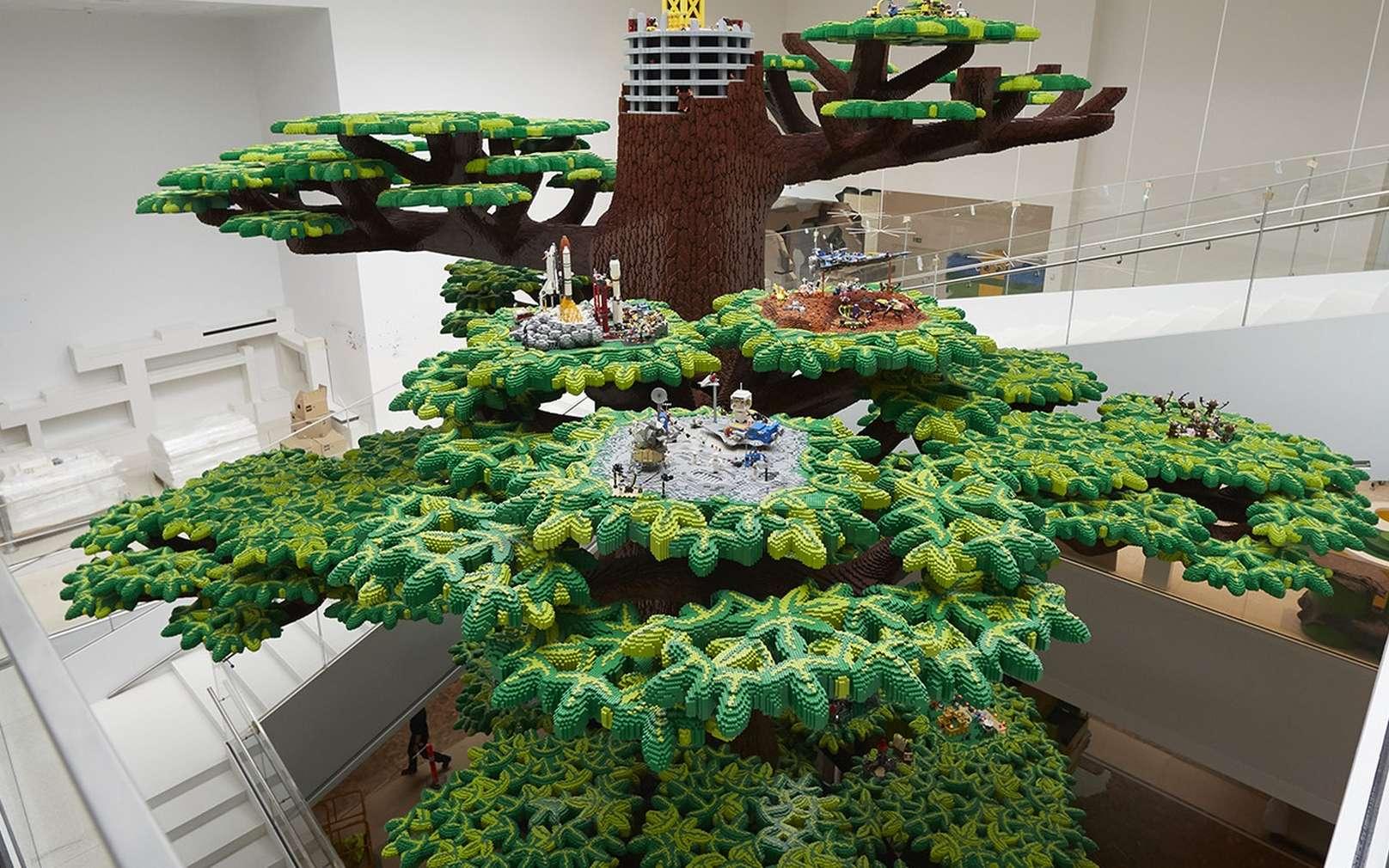 Lego s'est fixé comme objectif de n'utiliser que des matériaux durables d'ici 2030. © Lego