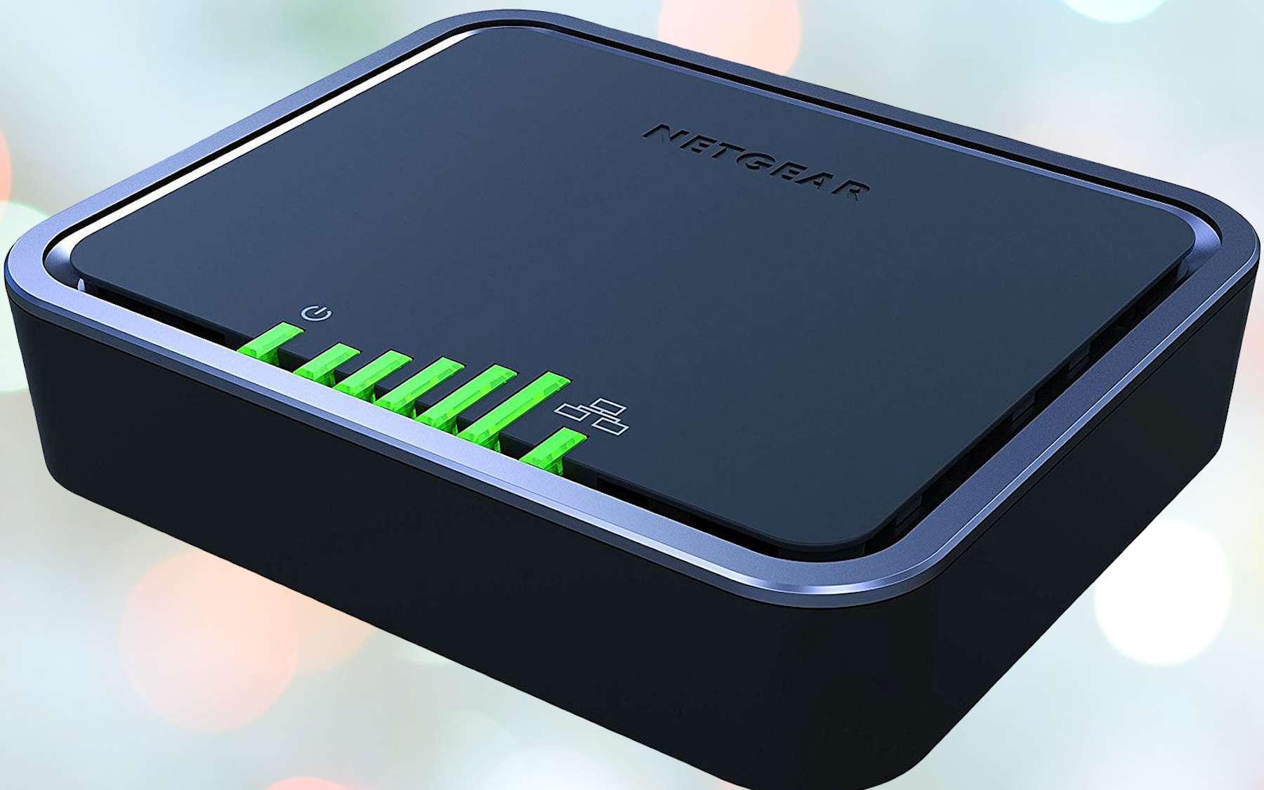 Modem 4G LTE NETGEAR LB2120. © Netgear