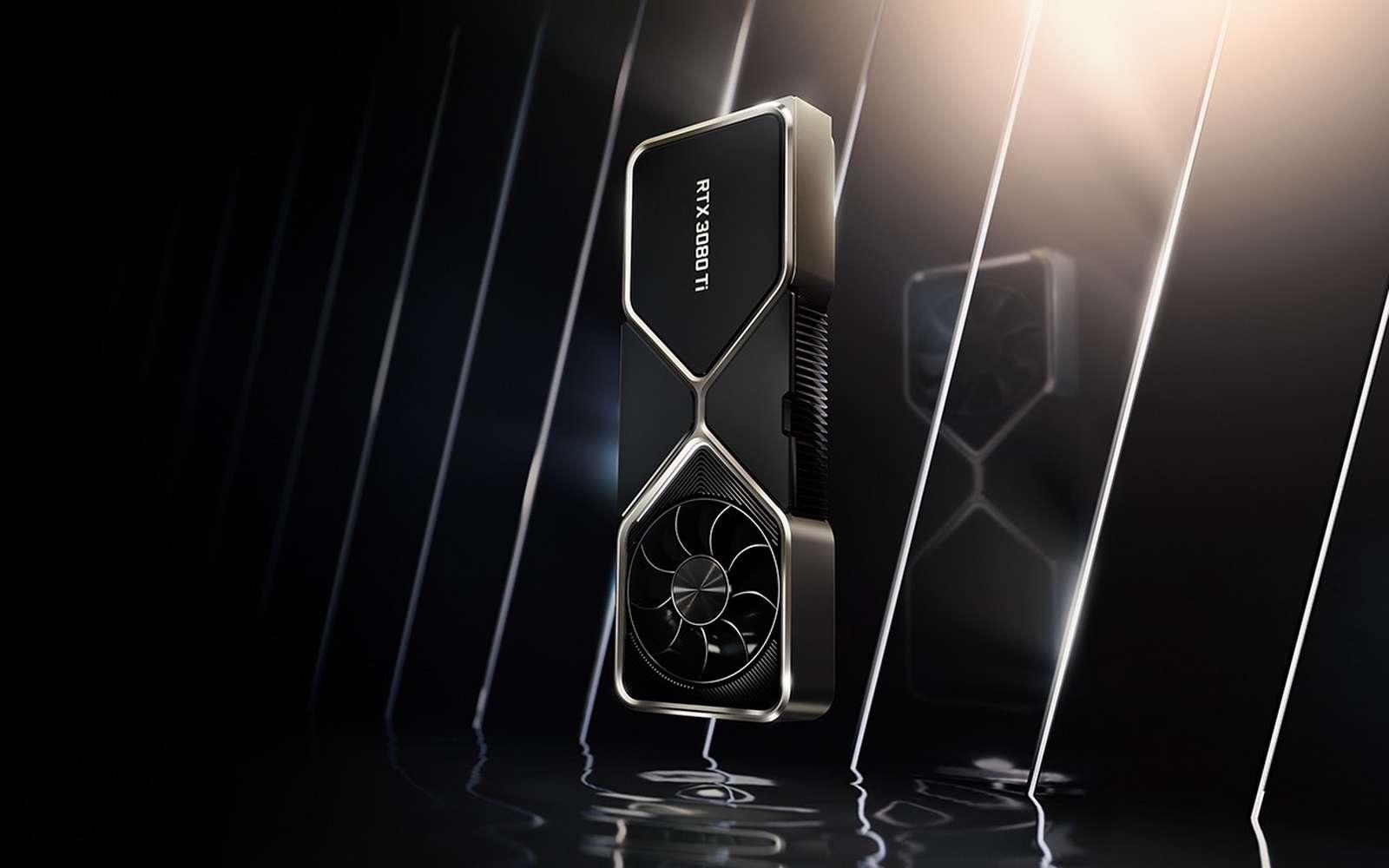 Les nouvelles cartes Geforce RTX 3080 Ti et 3070 Ti seront bridées pour le minage de cryptomonnaies. © Nvidia