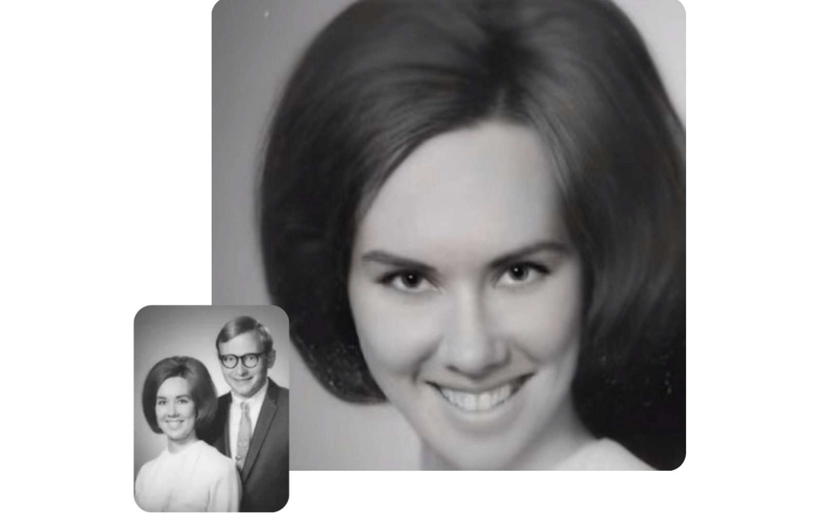 Animez vos photos avec le service Deep Nostalgia. © MyHeritage