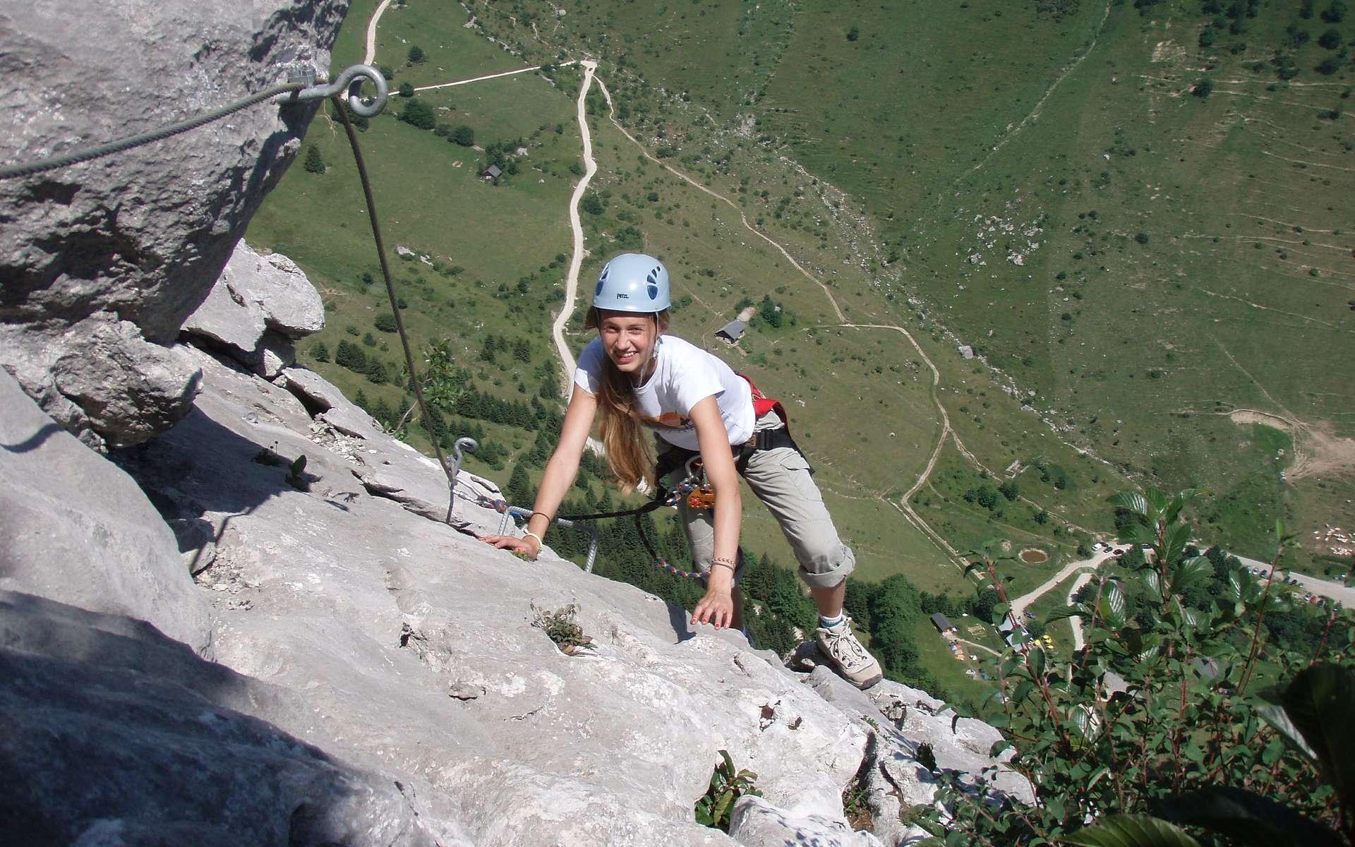 La peur du vide, ou acrophobie, empêche de faire certaines activités. © montemedio.com
