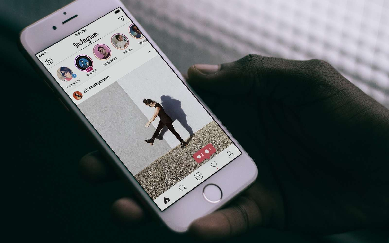 Futura vous explique comment bien débuter sur Instagram. © Imore.com